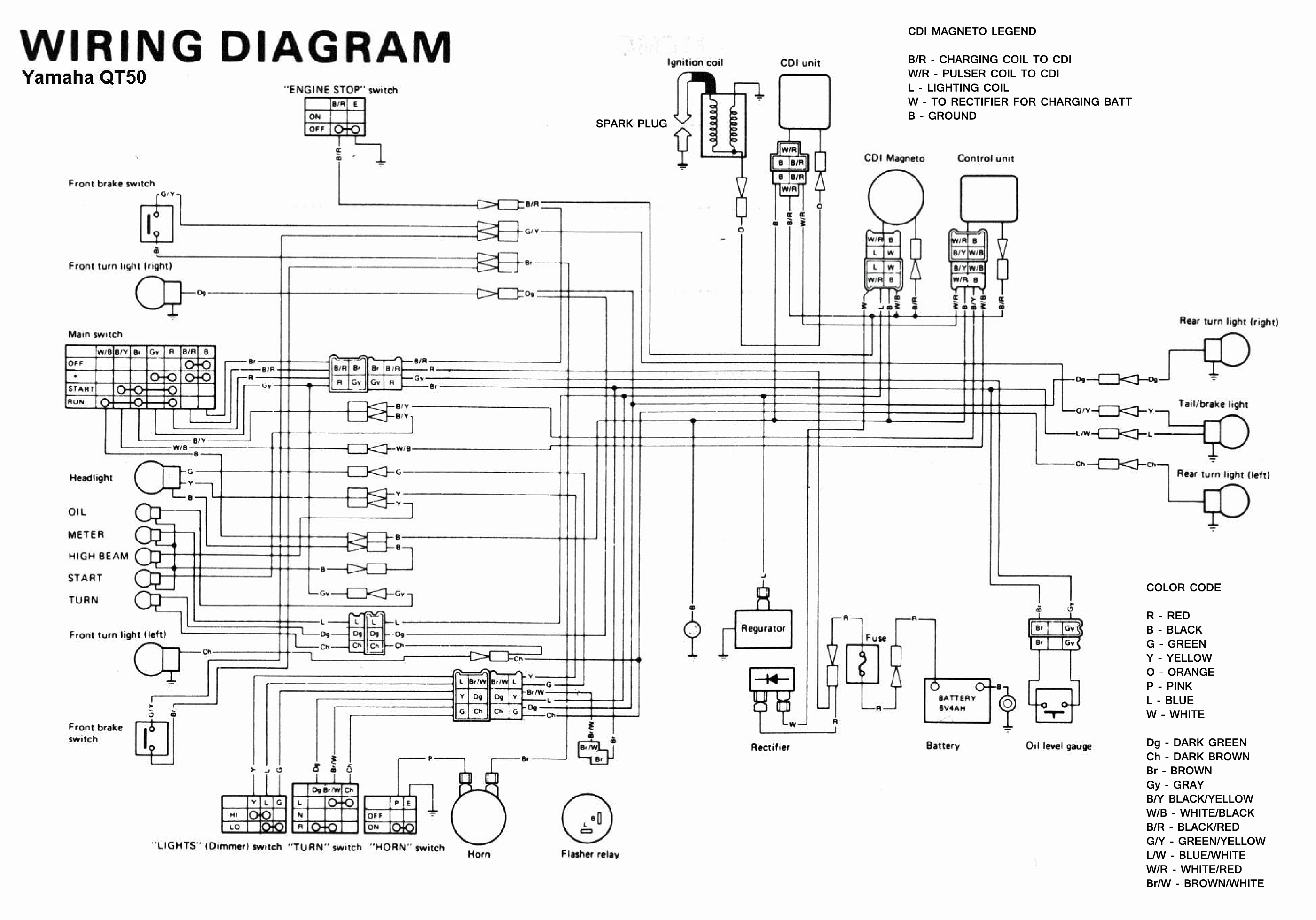 Yamaha Xt550 Wiring Diagram Schematics Diagrams Xt 500 1982 550 And Xt500