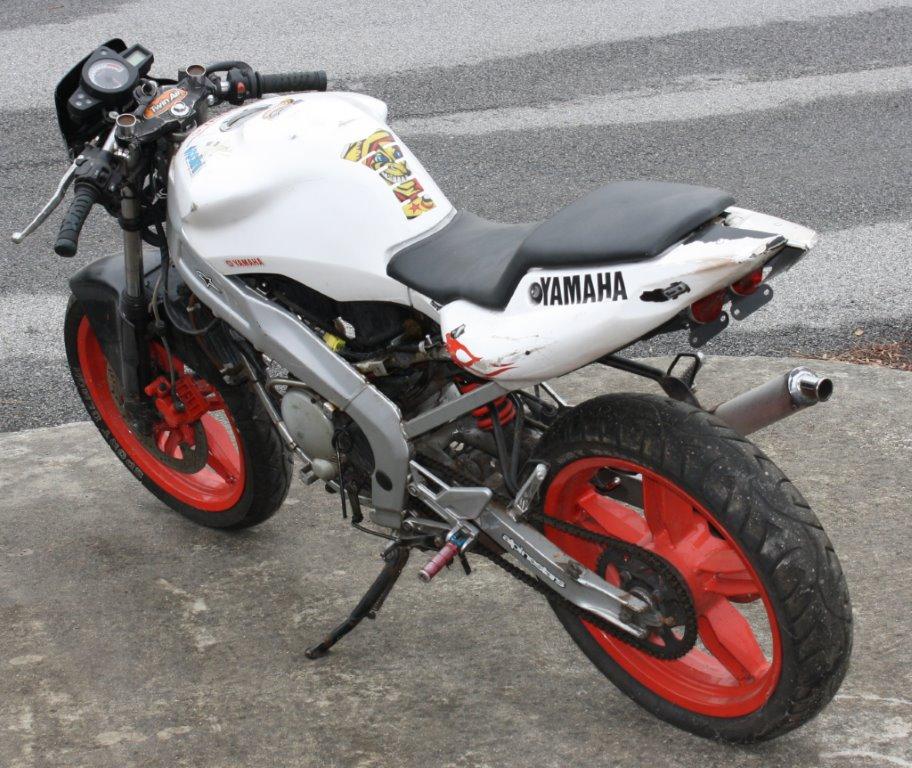 re need help getting parts for a yamaha tz50 moto gp bike. Black Bedroom Furniture Sets. Home Design Ideas