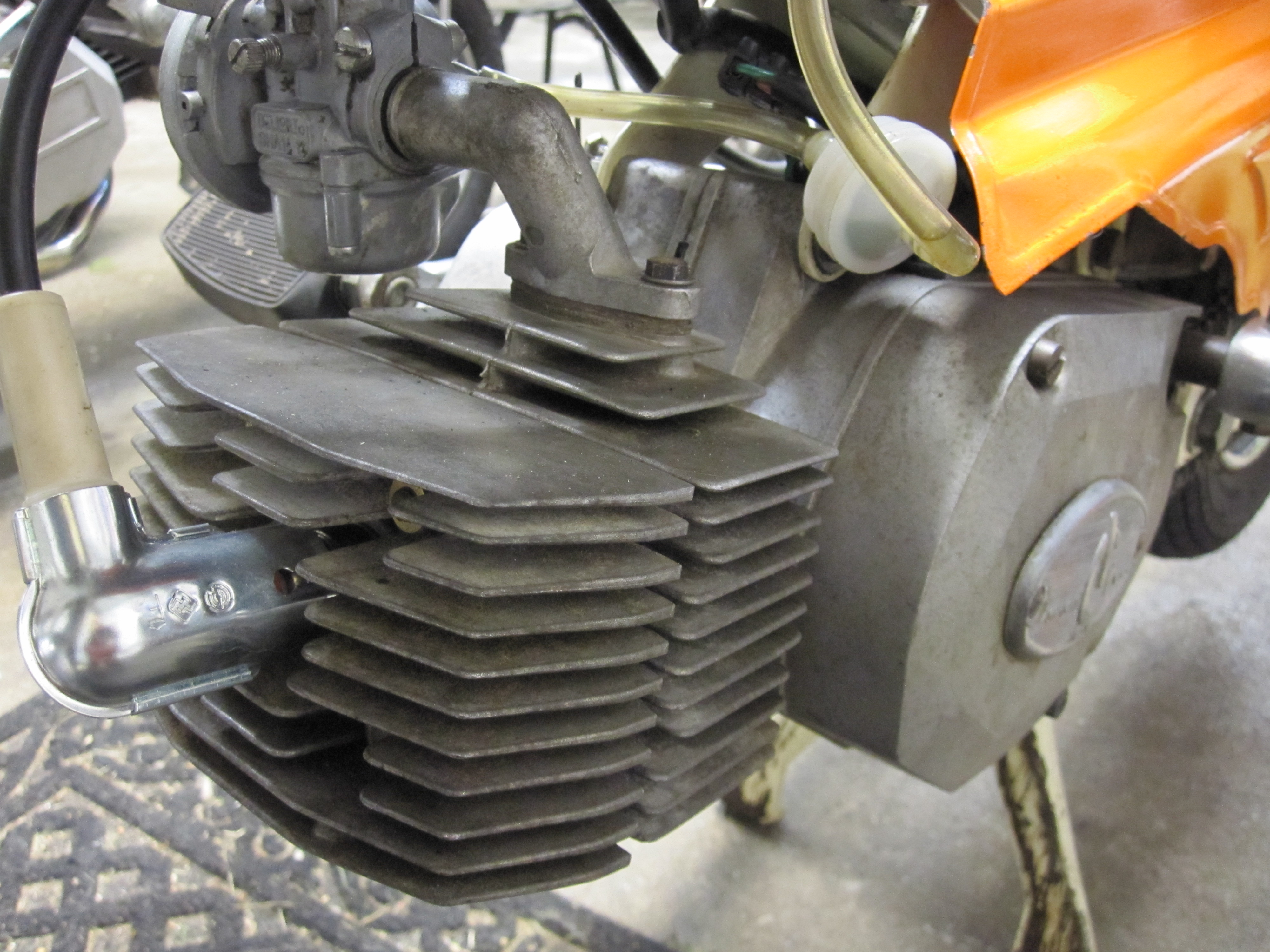 Intramotor on Morini Moped Gyromat