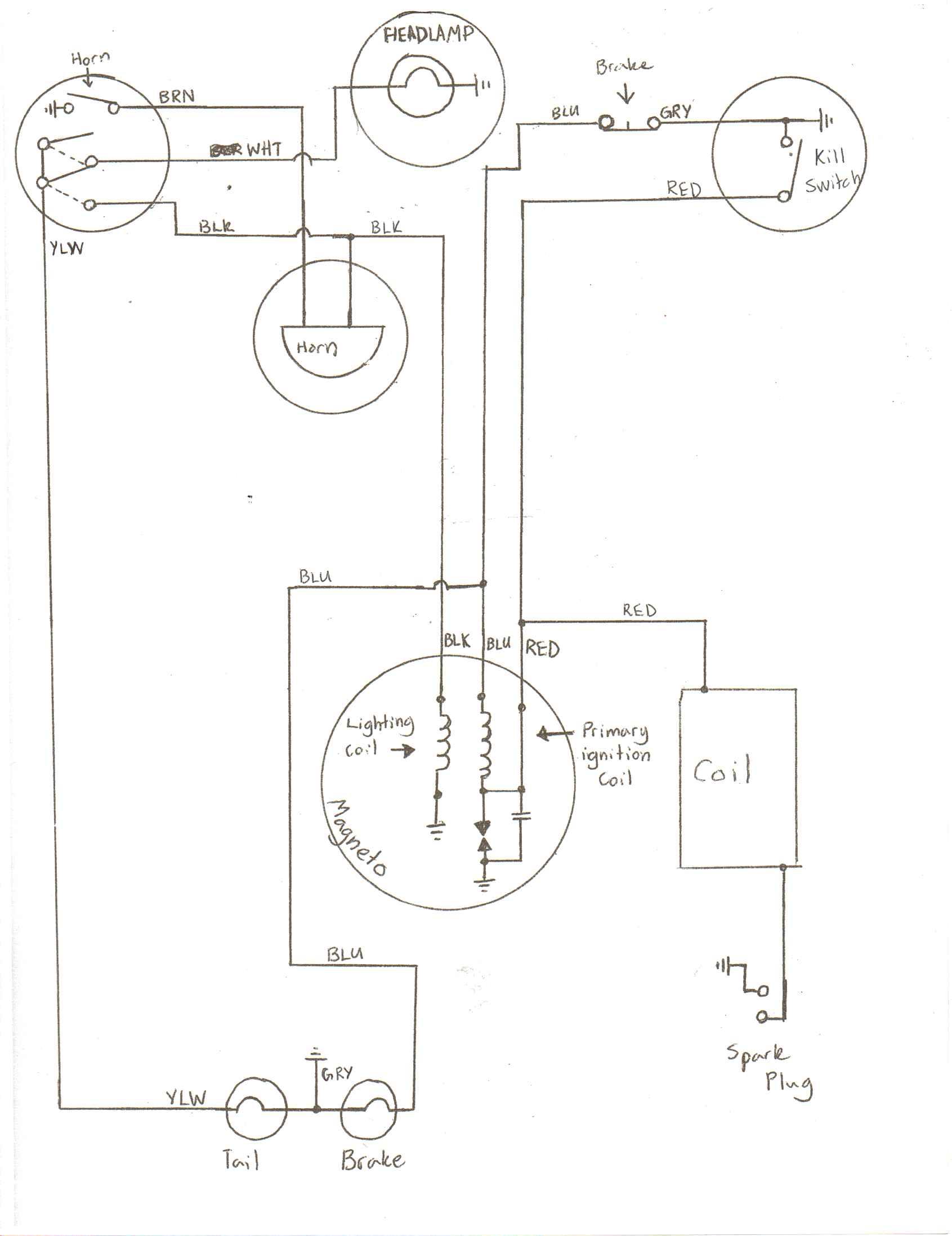 minarelli v1 wiring