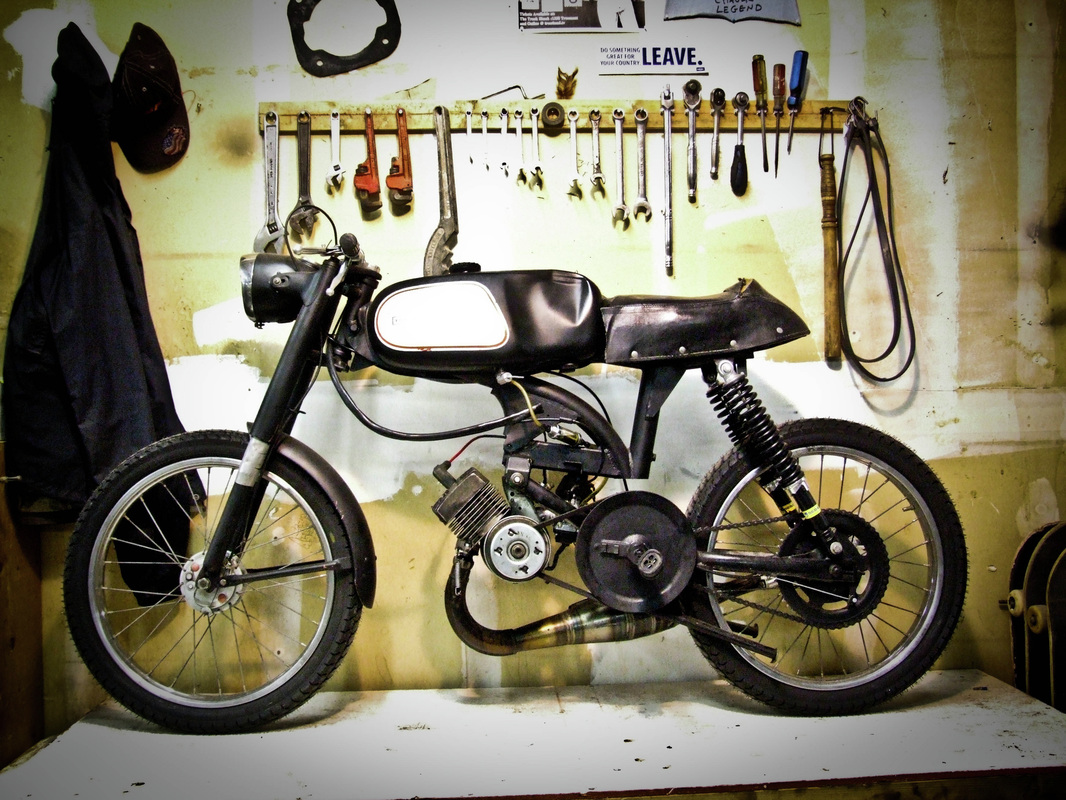 Motocross Style Electric Moped Project - Endless Sphere