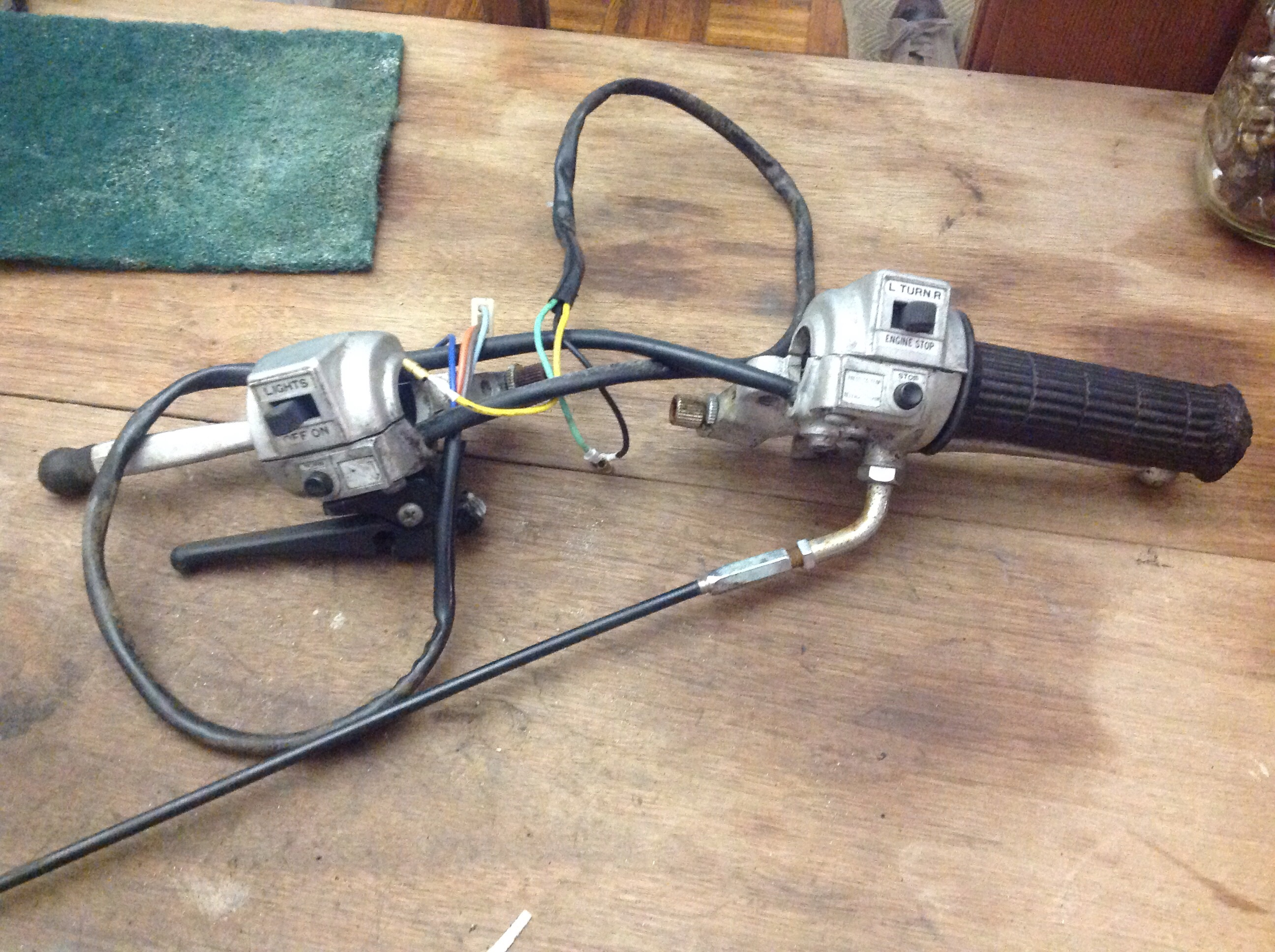 FS: General 5 Star wiring harness and controls — Moped Army on