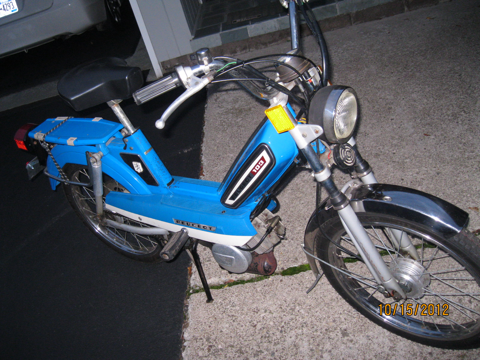 4 SALE; 1979 Peugeot Moped
