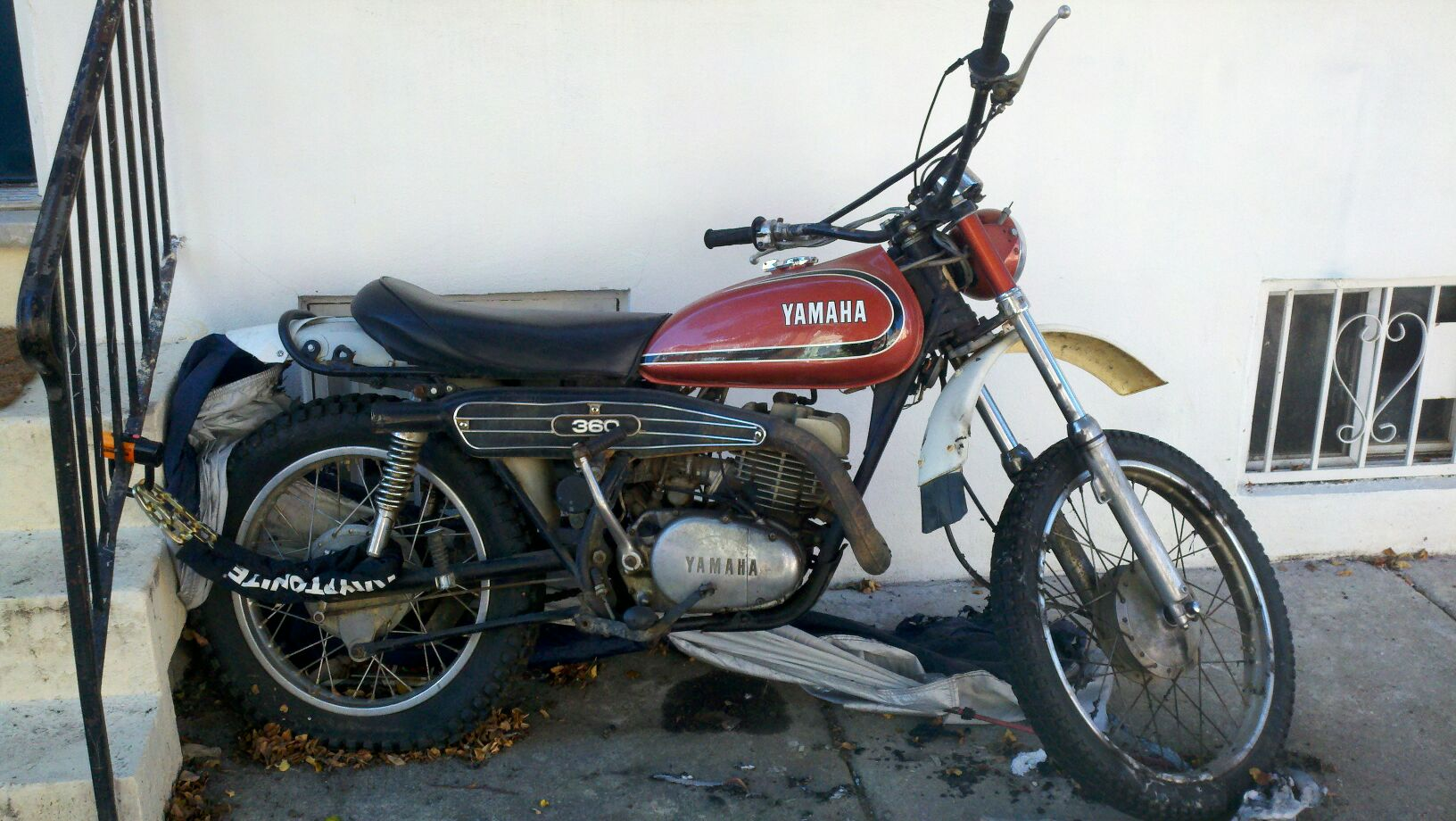1971 yamaha rt1 360 2 stroke enduro for Yamaha 360 enduro