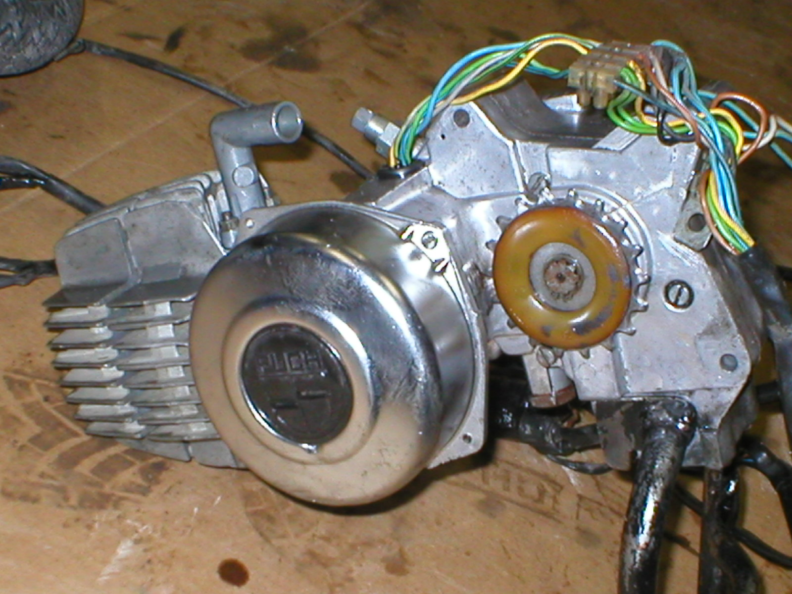 puch za50 2 speed engine very low miles ebay