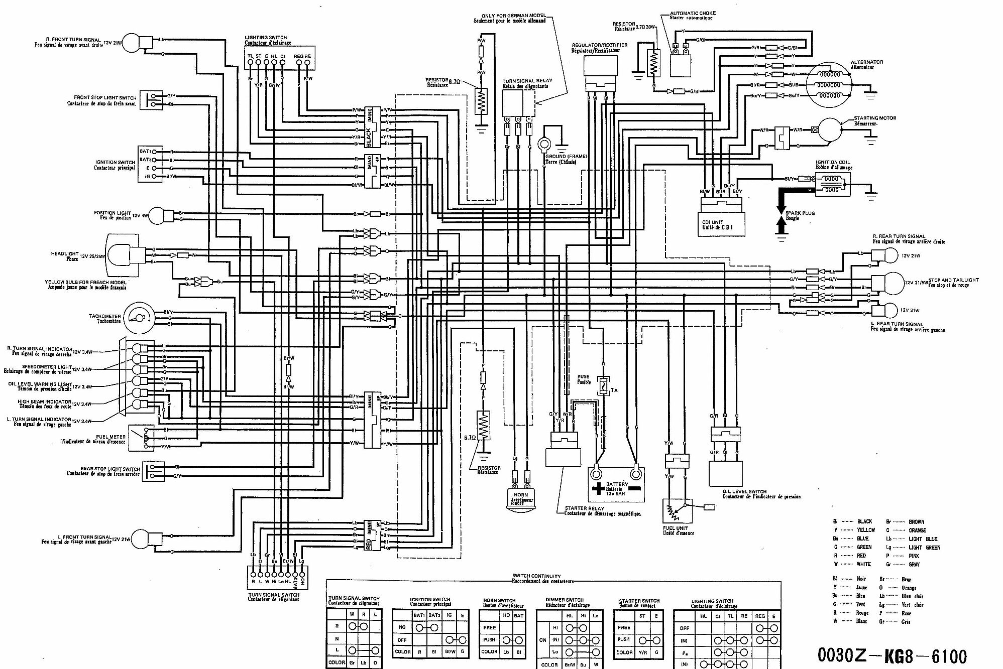 Honda Aero 80 Wiring Diagram Diagrams Scooter Turn Signal Get Free Image About 50 1984
