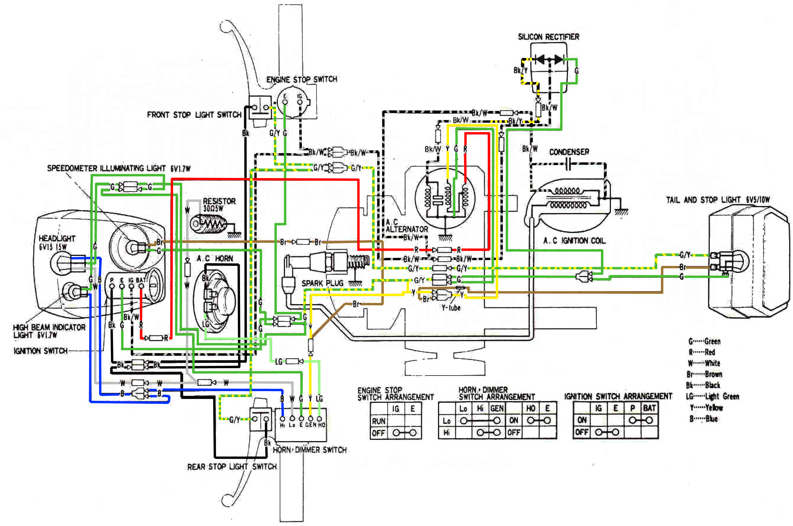1978 Honda Nc50 Wiring Diagram Detailed Schematics Ct90 Ct110 Electrical Express All Kind Of Diagrams U2022 Cb750k