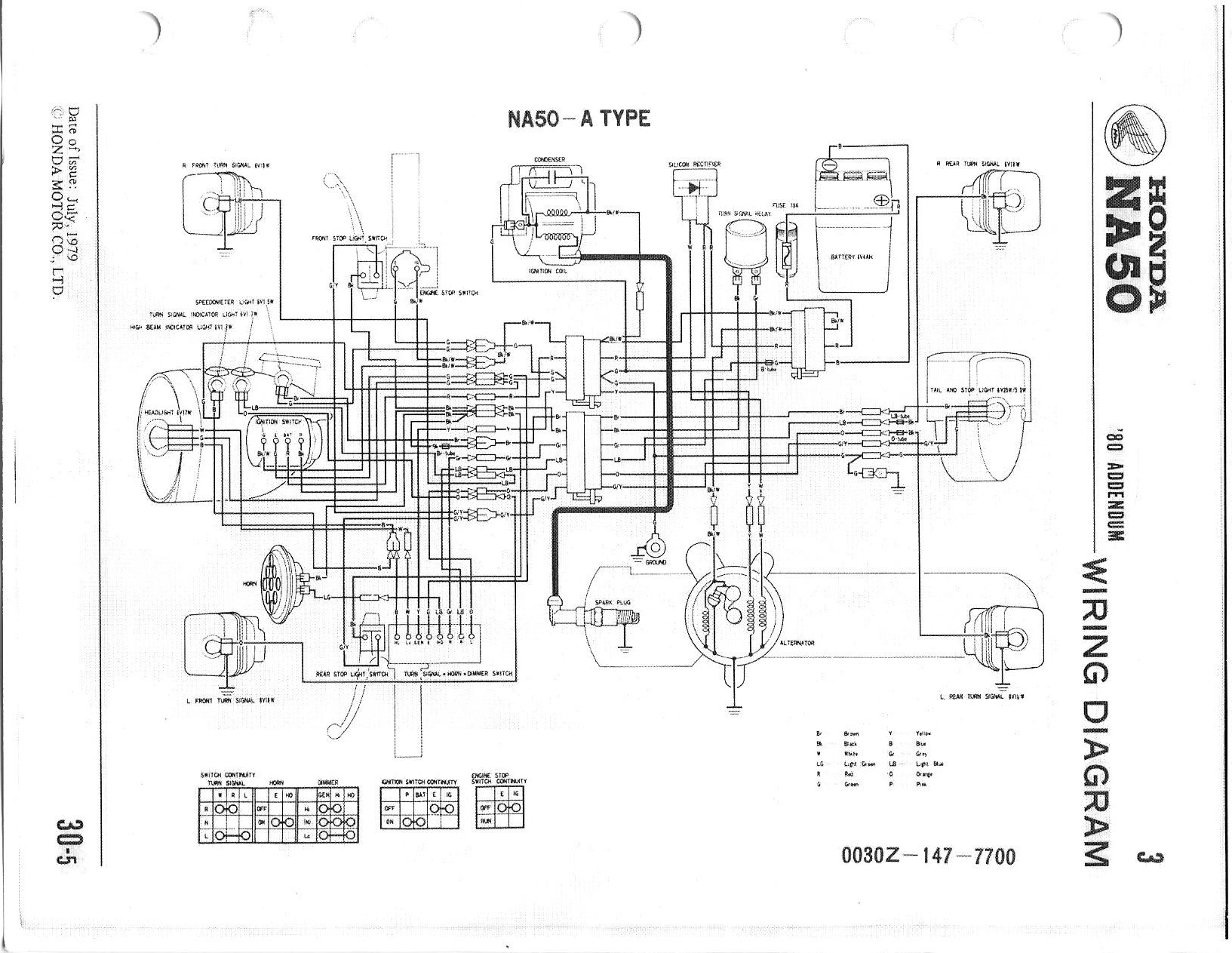 1982 honda express wiring diagram html