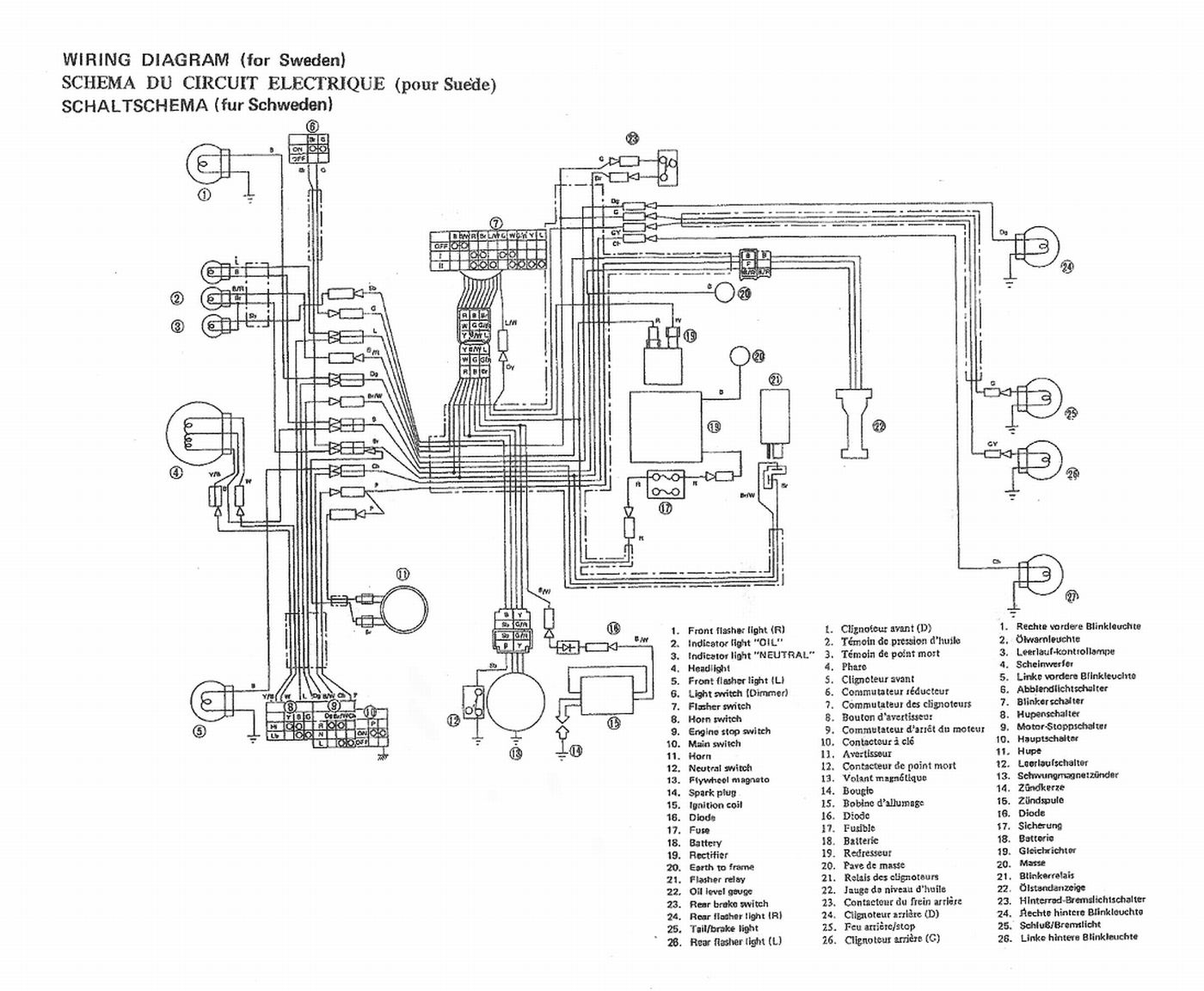 Wiring Harness Engine furthermore Lincoln Welder Sae 400 Wiring Diagram besides Electrical  ponents additionally Mallory Promaster Coil Wiring Diagram furthermore Clutch Assembly For Stihl Ms261. on mag o wiring diagram