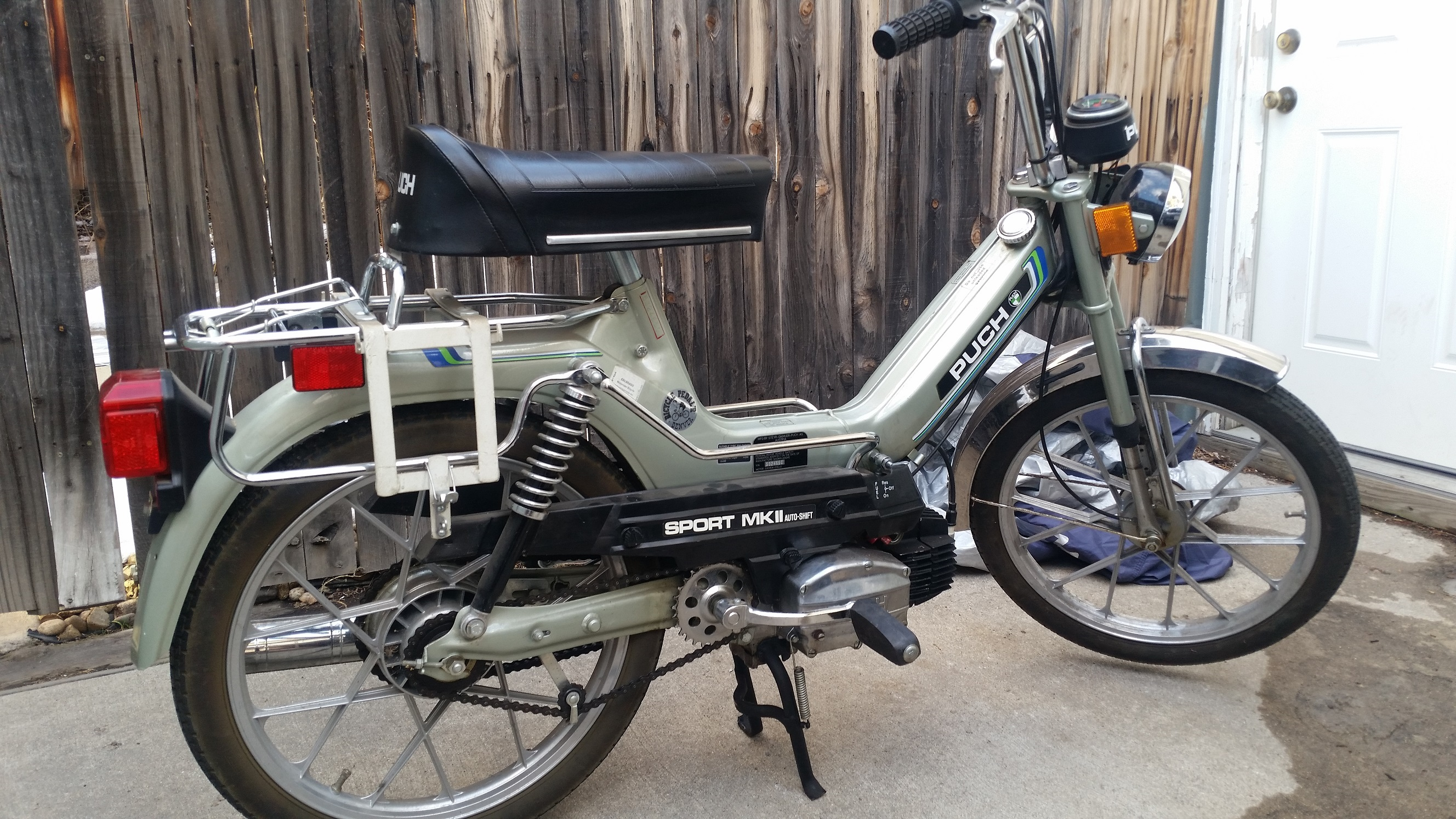 Upgrade to a treatland 70cc kit for 1978 puch maxi MKII — Moped Army