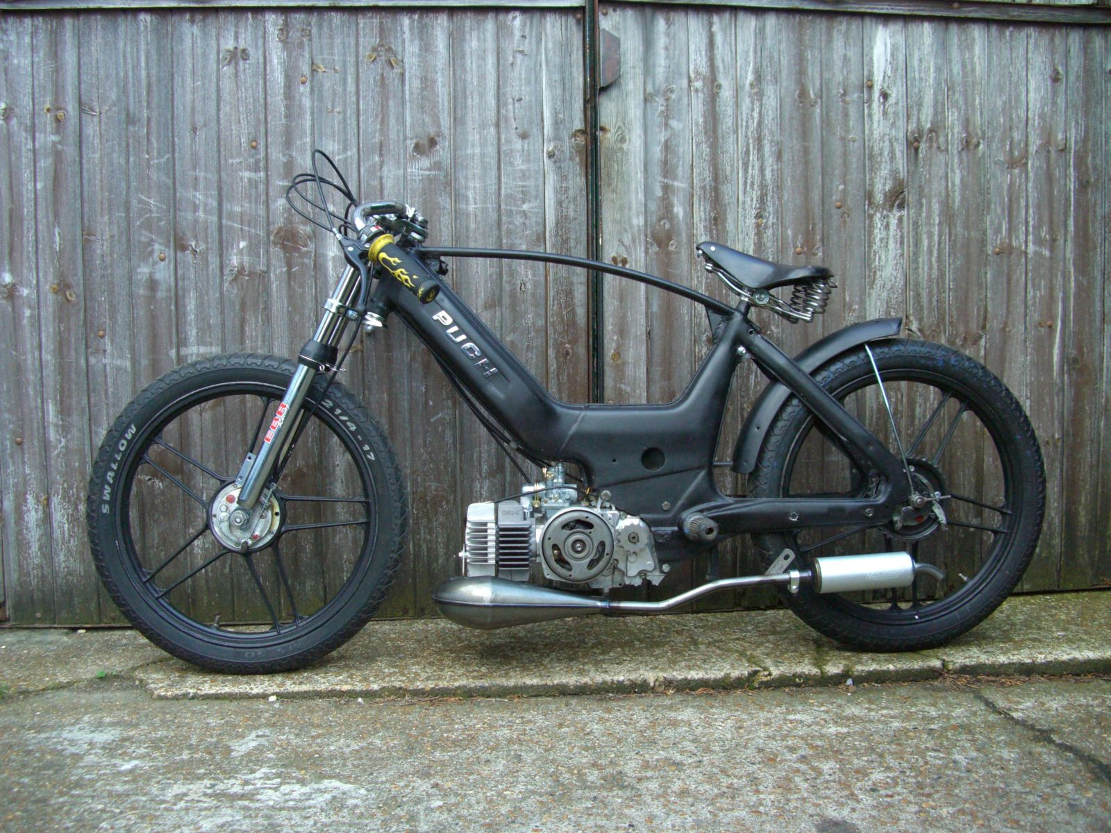 Puch Maxi Racer Moped Army