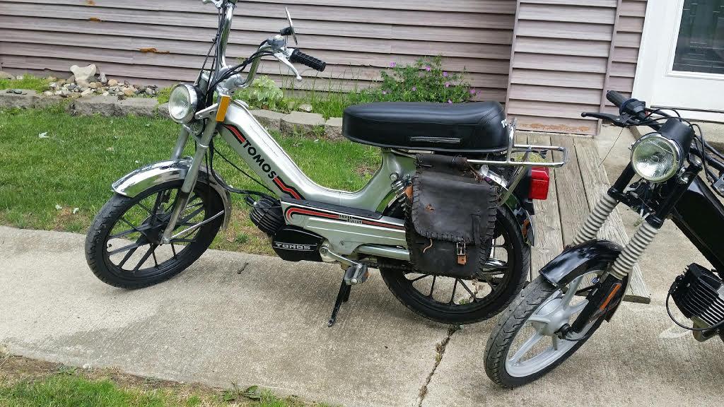 STOLEN: 1979 Tomos A3 Silver Bullet-Mid Mi  — Moped Army