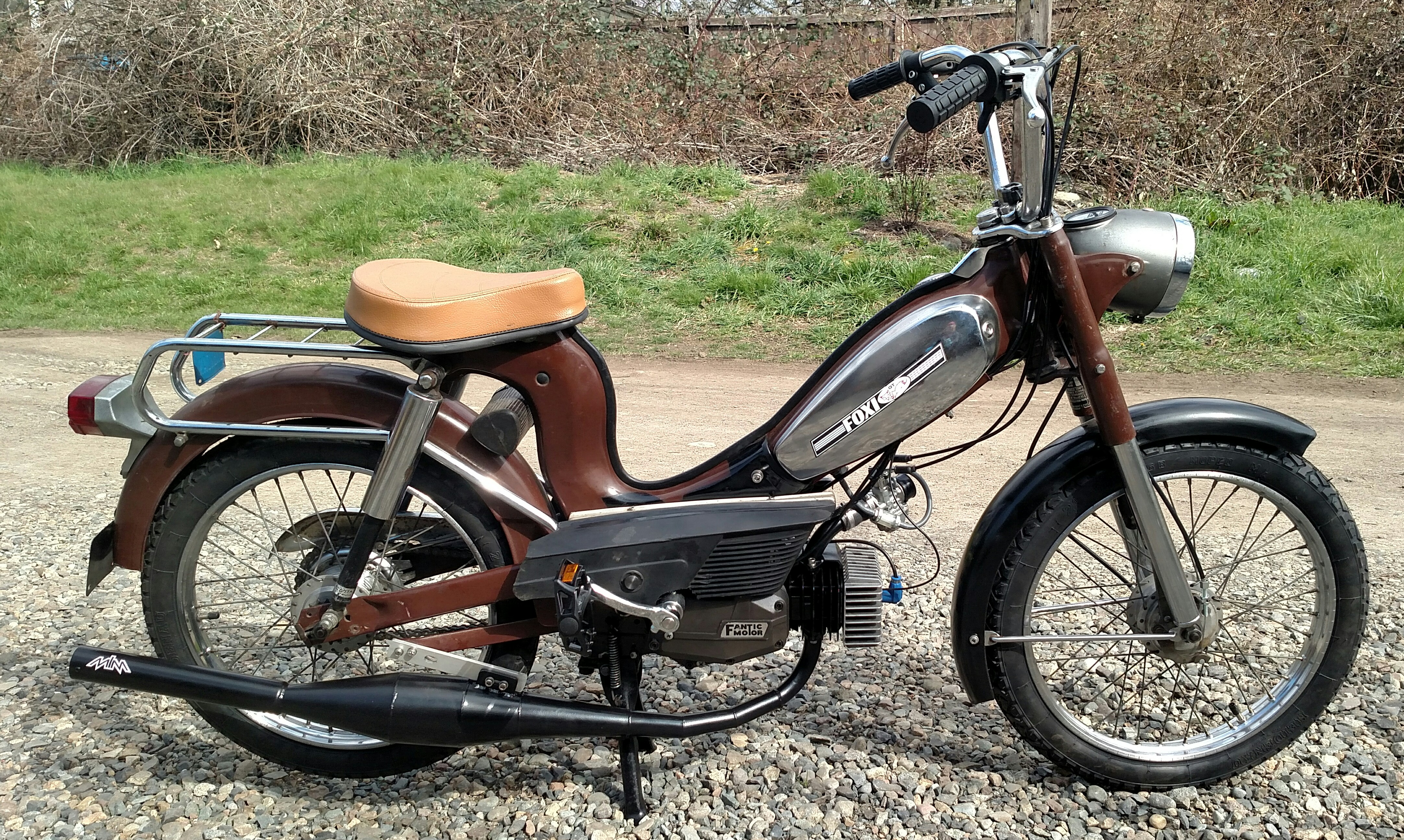 Foxi Fantic V1 Sport build — Moped Army