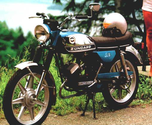 Welp casal/yamaha with zundapp motor?? — Moped Army GE-61