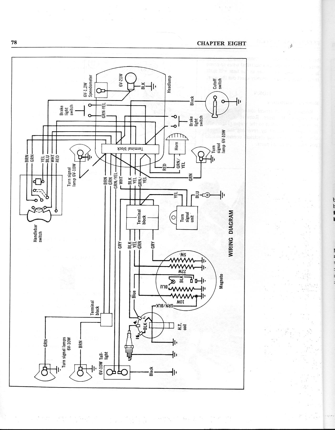 M56 wiring diagram — Moped Army