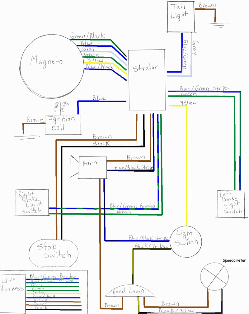 Re     Puch    wiring    diagram        Moped Army