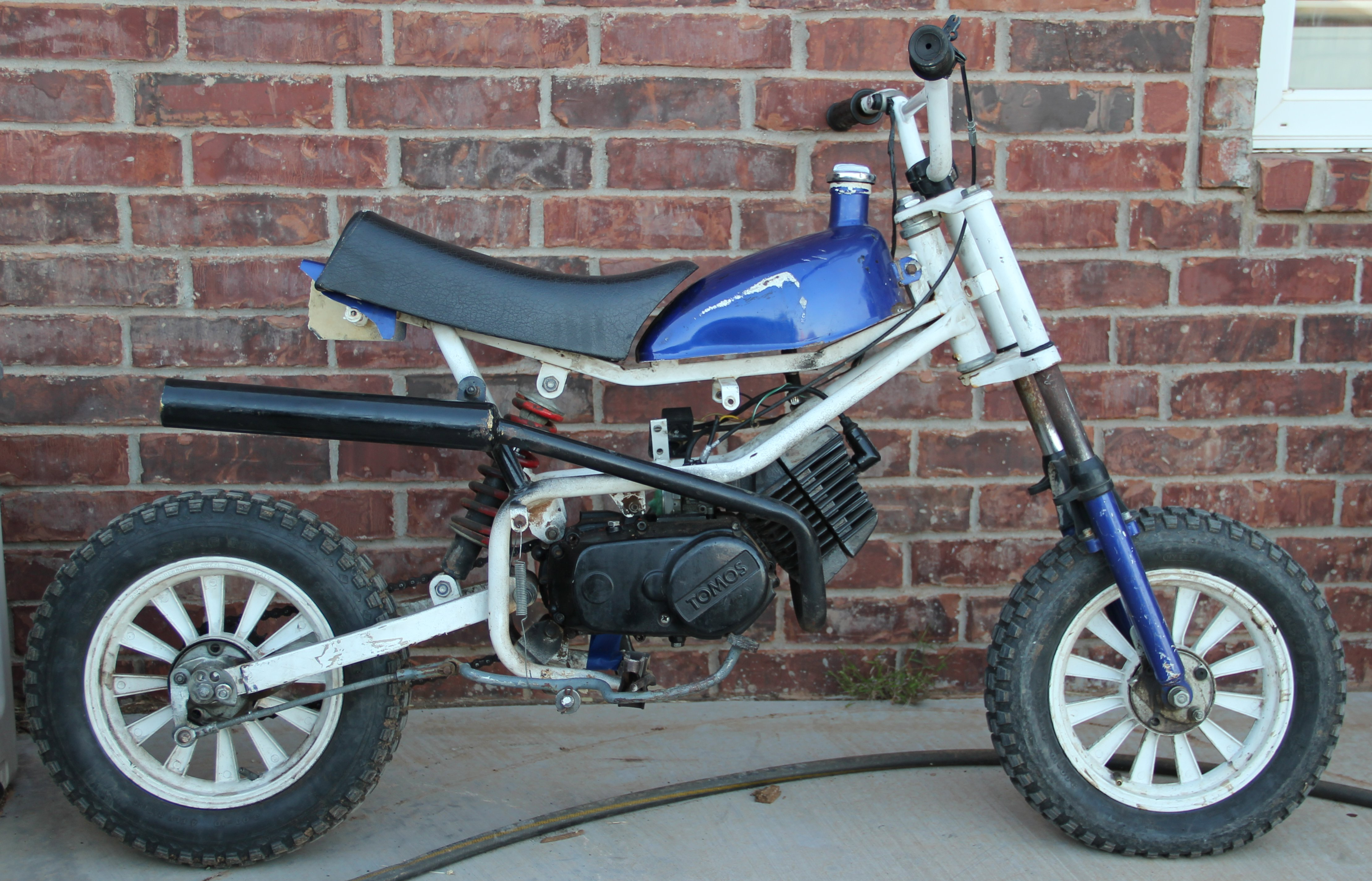 What is this Tomos TX20 Super Tom — Moped Army