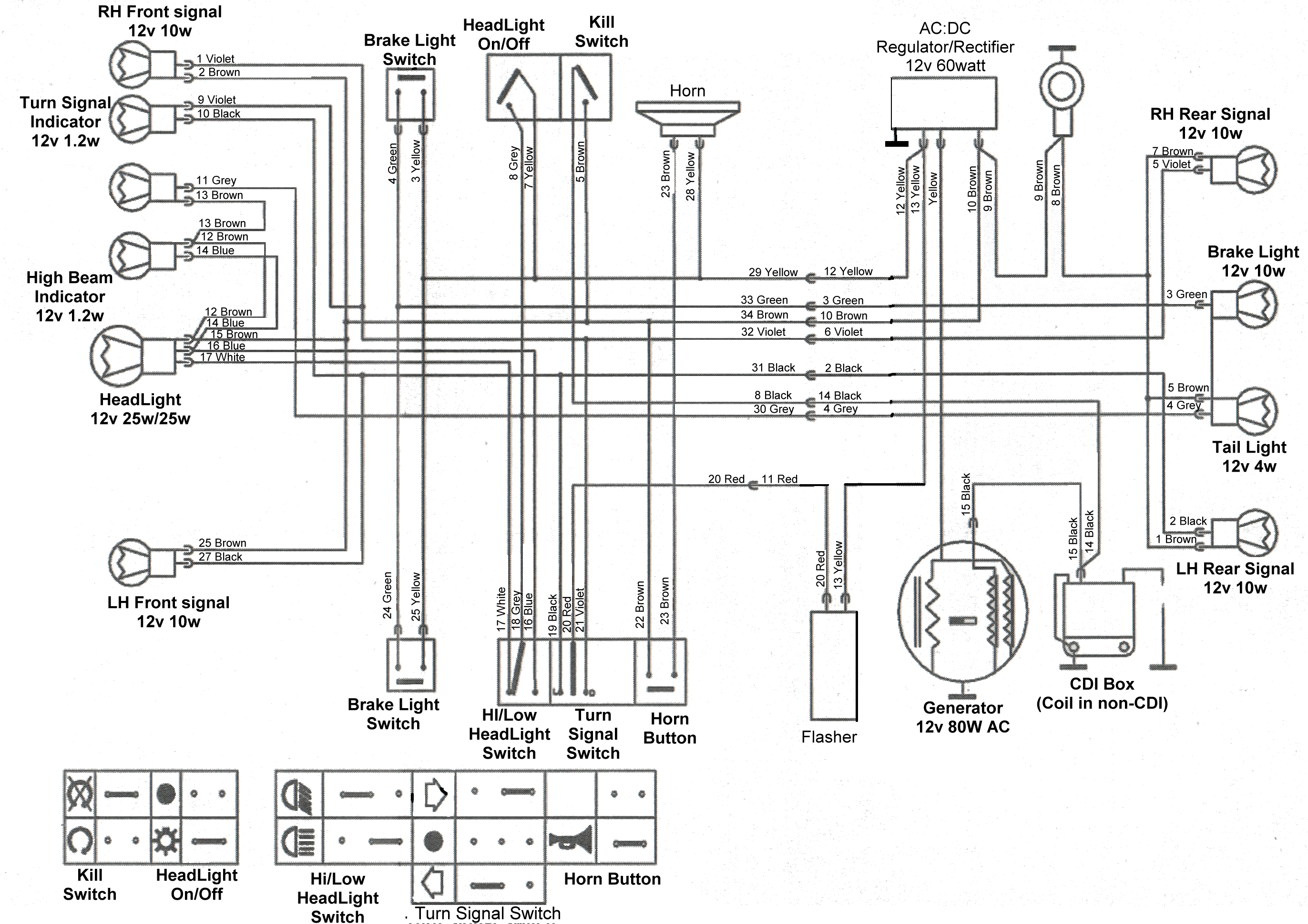 2 tomos wiring diagrams  u2014 moped army