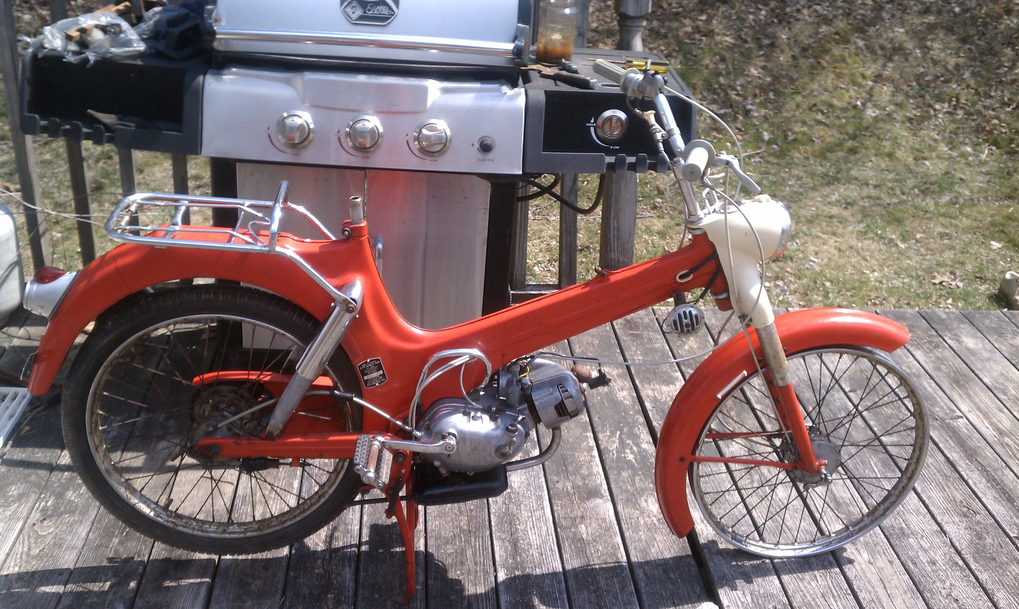 Military Tank For Sale >> 1960 Puch allstate moped [by thomas665] — Moped Army