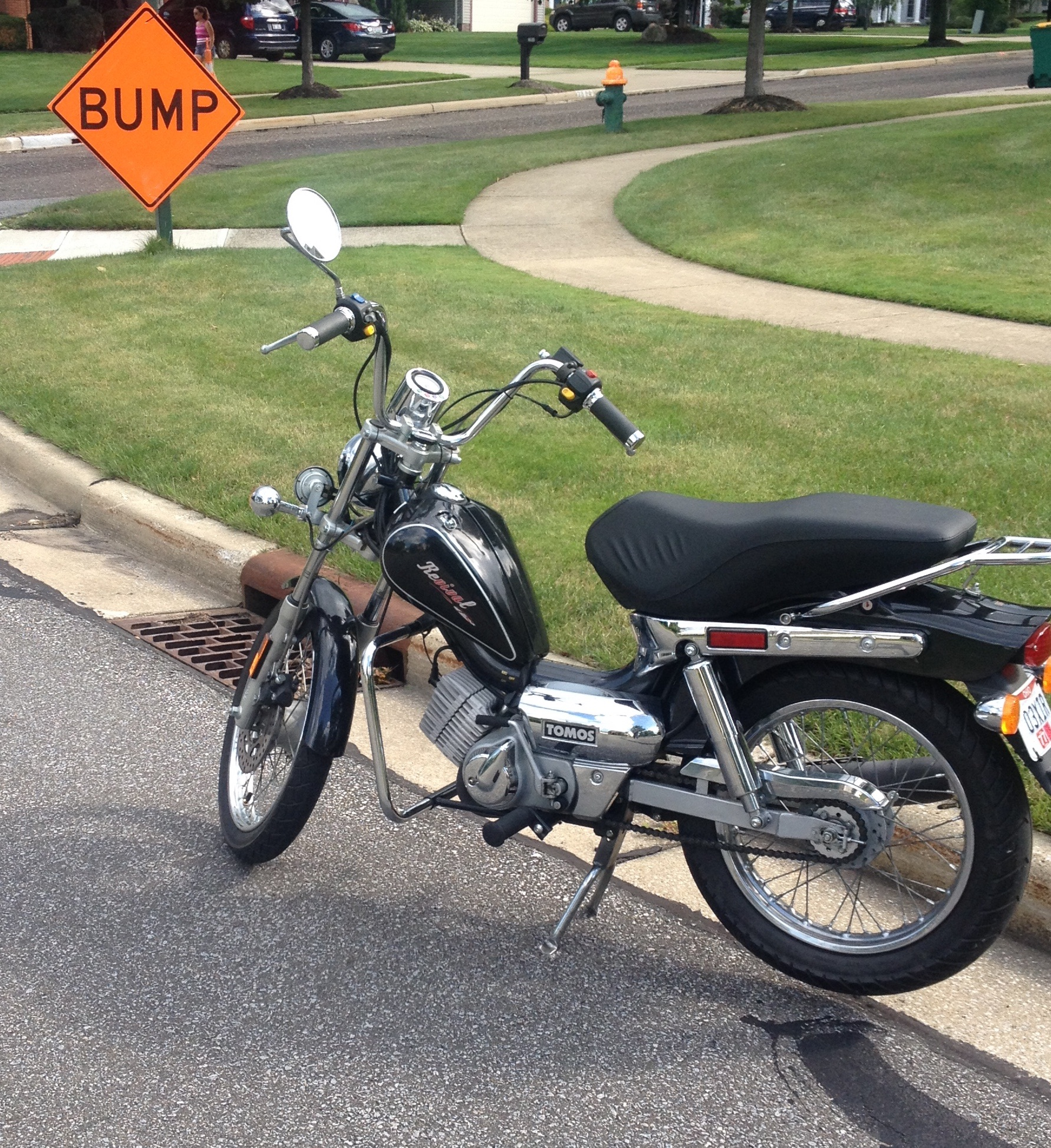 2006 Tomos Revival TS w/ biturbo for sale — Moped Army