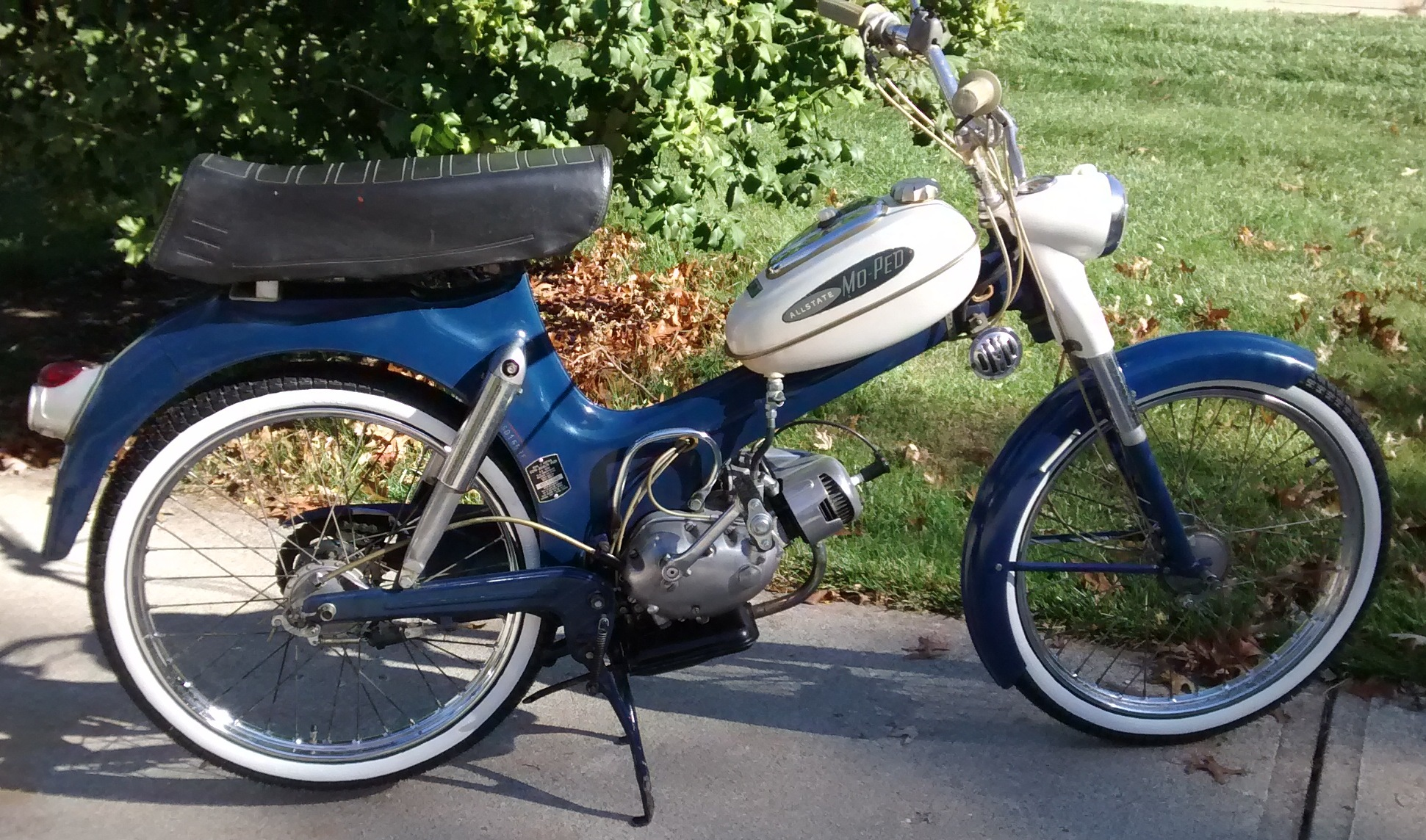 re  for sale 1964 sears allstate moped  u2014 moped army