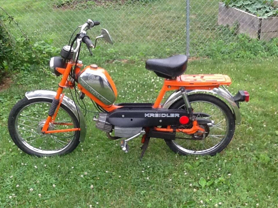Fs Kreidler Moped Cincinnati Ohio Army