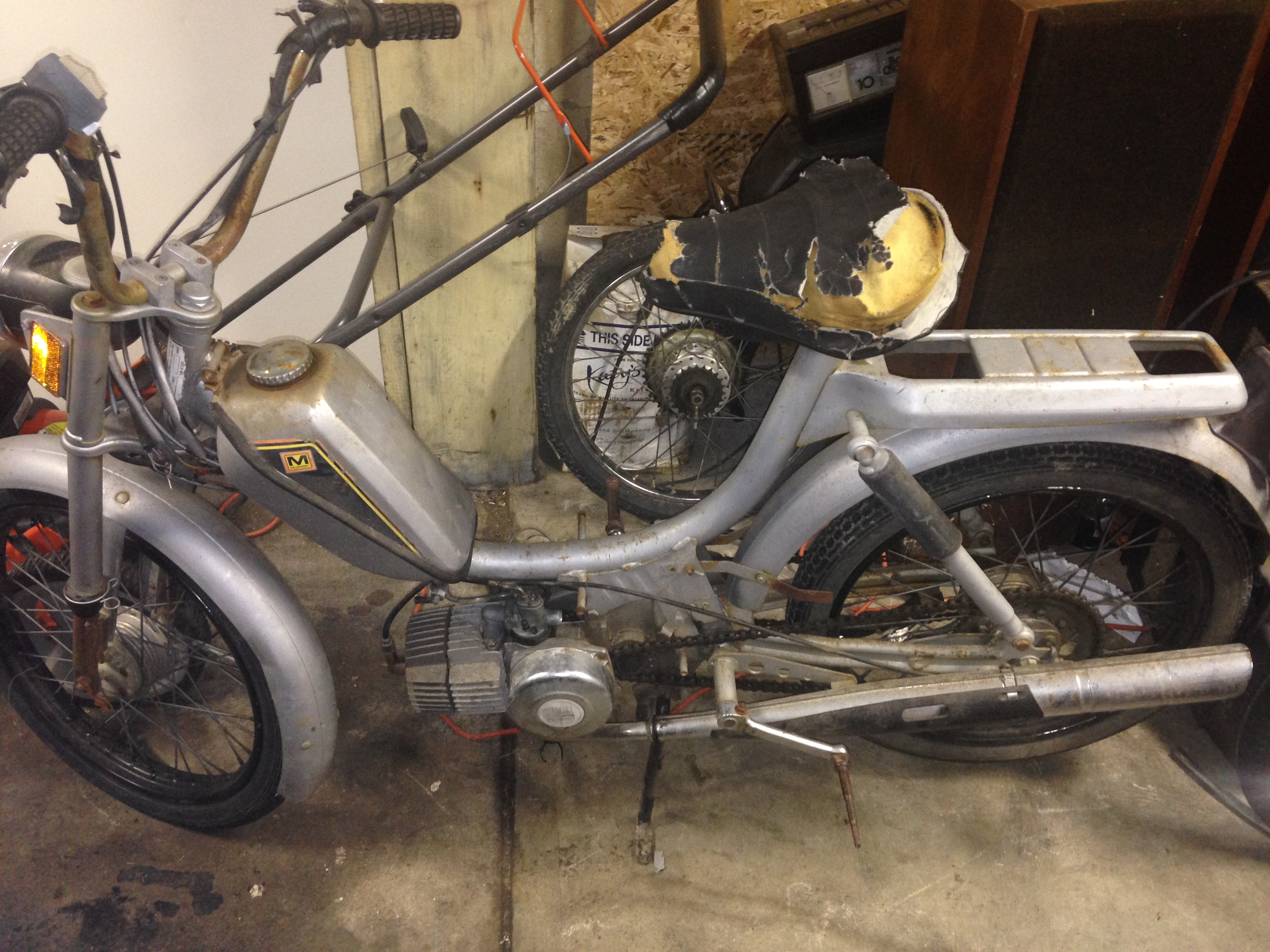 Part out: Puch Murray moped — Moped Army
