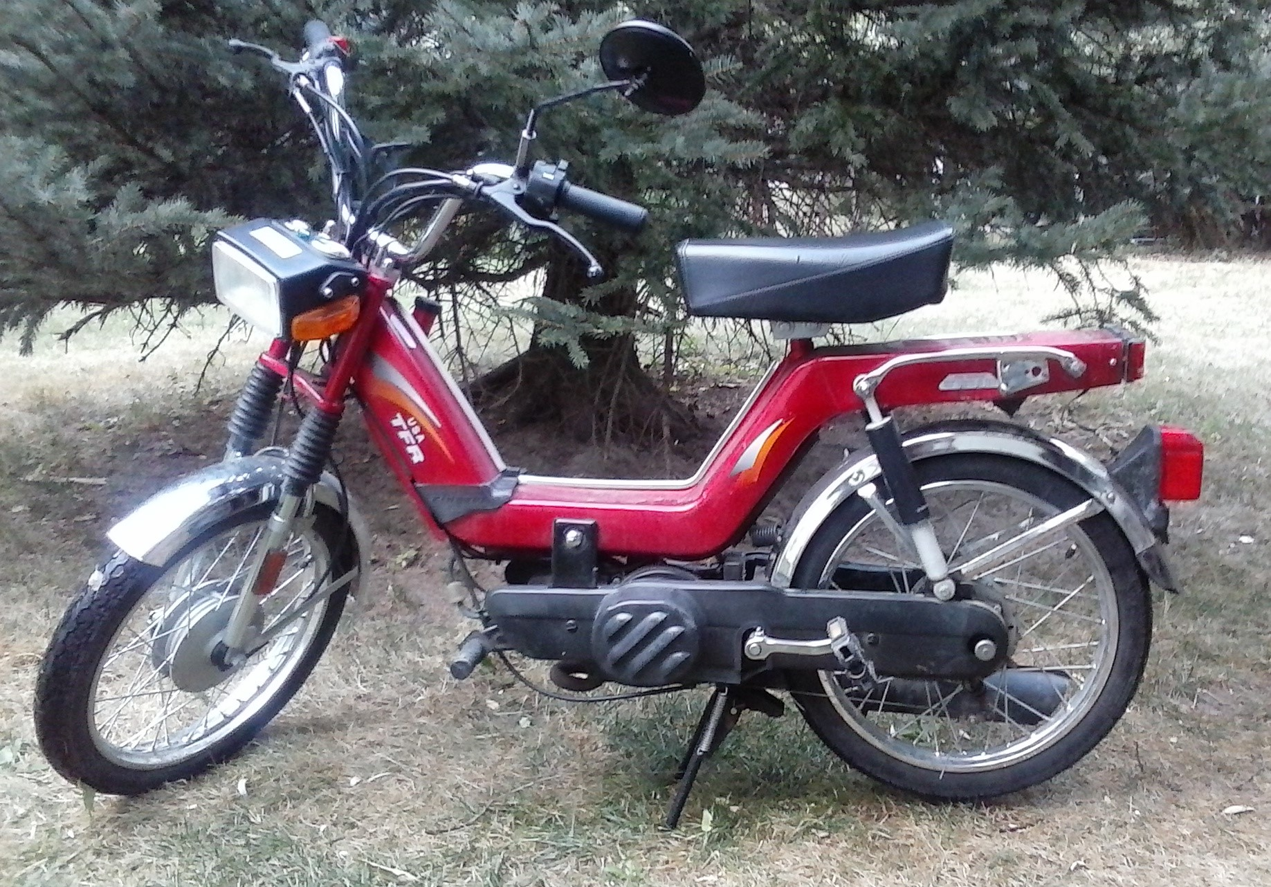 Active Auto Sales >> FOR SALE Kinetic TFR 2004 — Moped Army