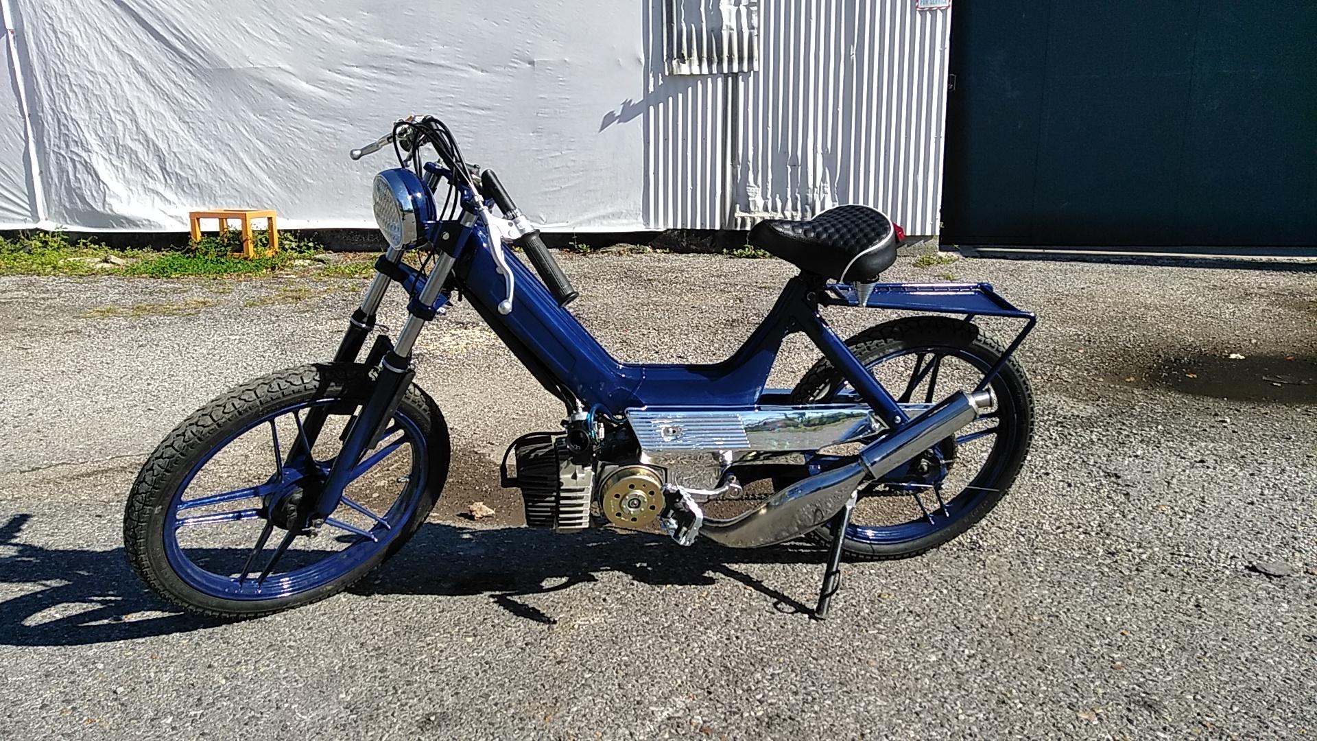 FS: 1977 Puch Maxi-N    Full Restoration   Ripsdix — Moped Army