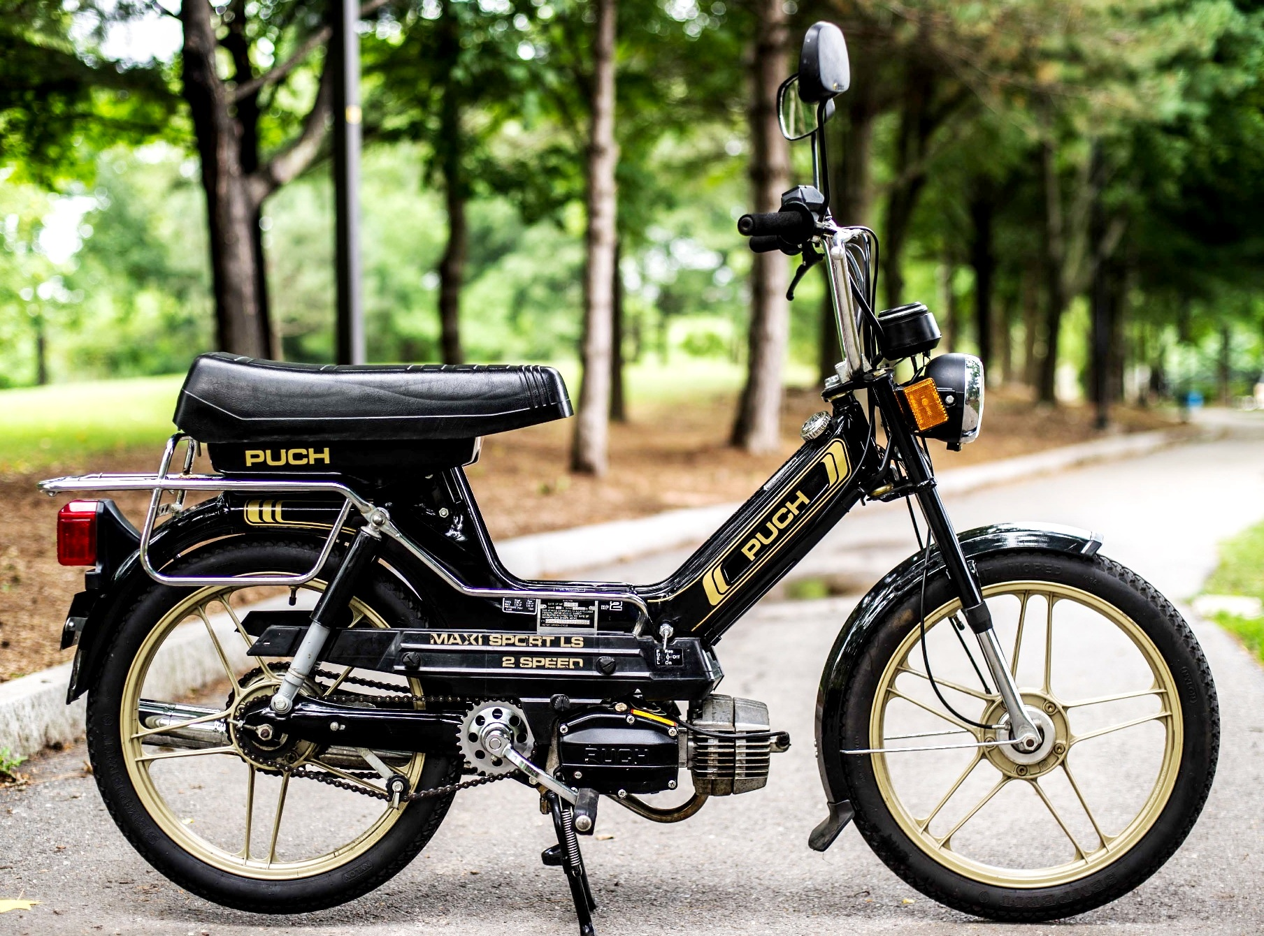 WTT Puch Magnum MKII for      — Moped Army