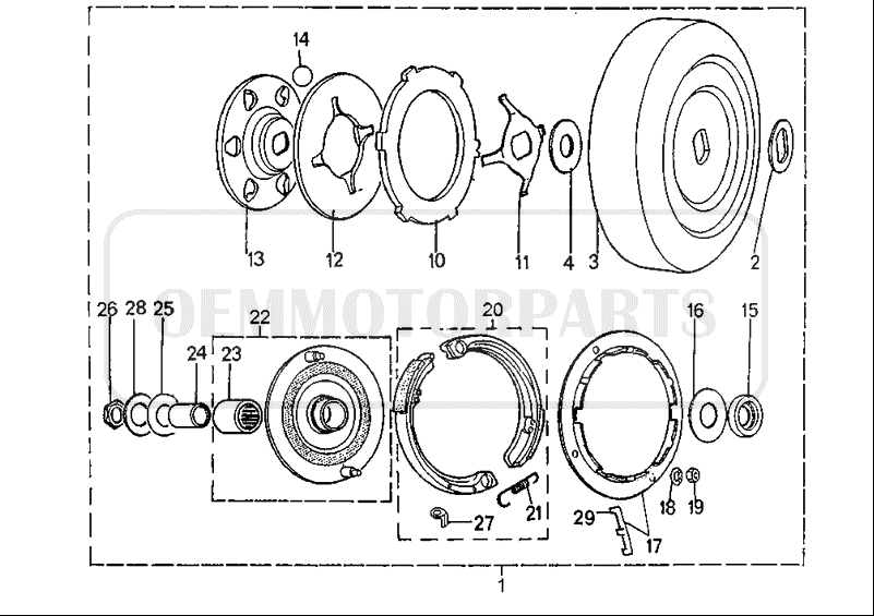 WTB: Peugeot 103 clutch parts — Moped Army