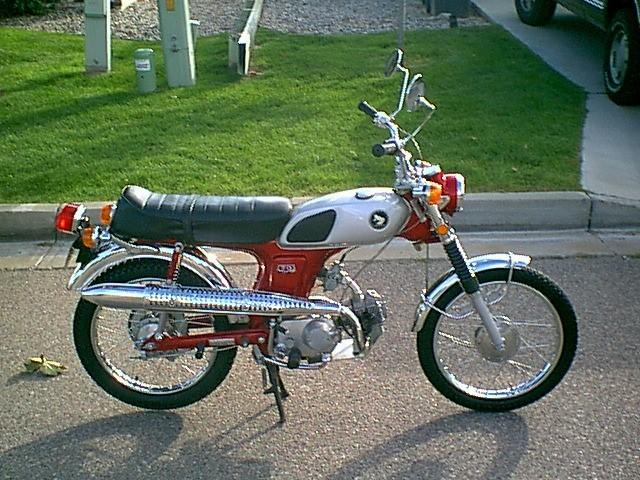 1969 Honda Cl70 K0  U2014 Moped Army