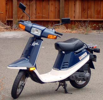 yamaha riva jog 50cc for sale moped army. Black Bedroom Furniture Sets. Home Design Ideas