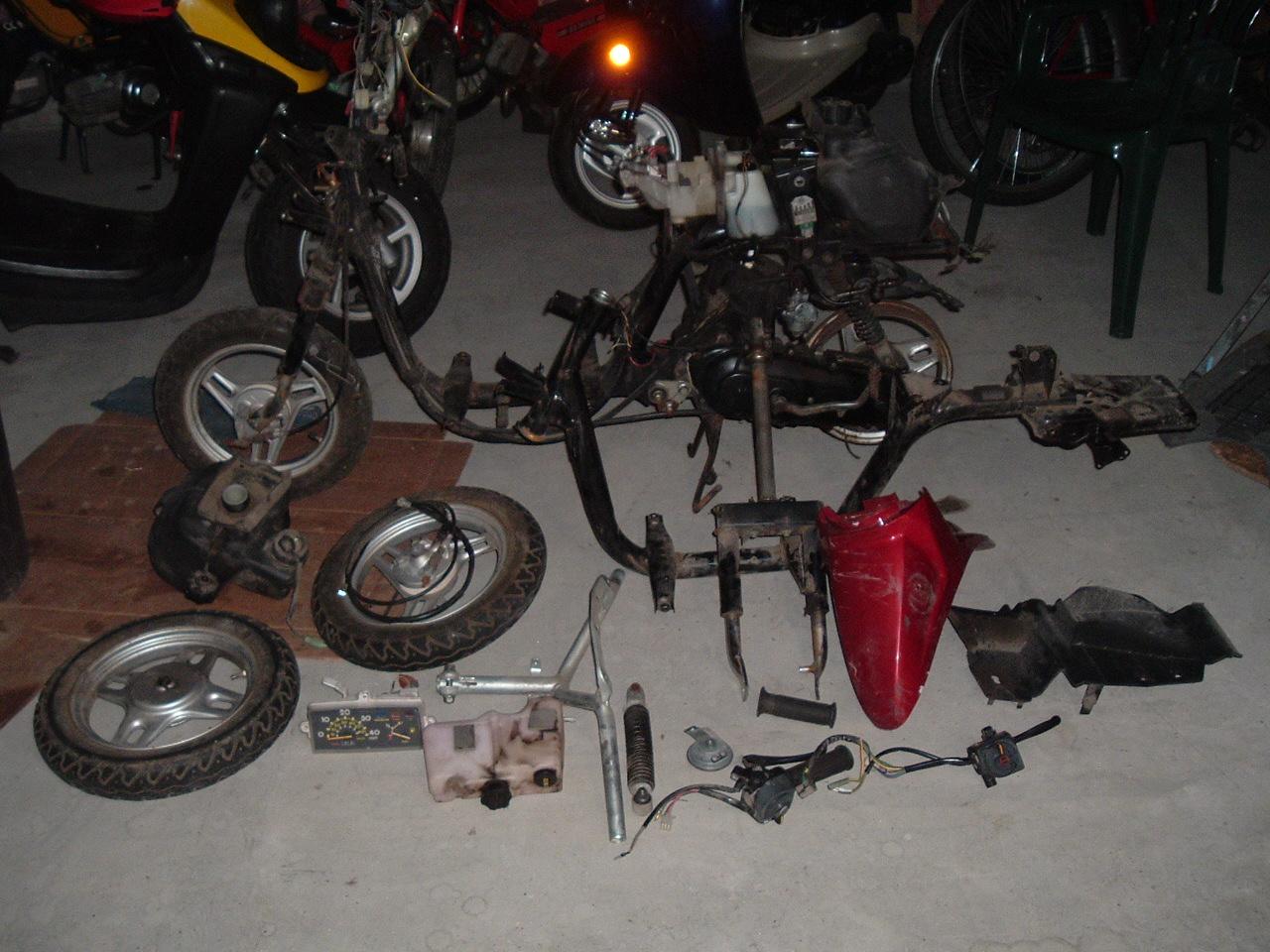 Yamaha Razz Performance Parts
