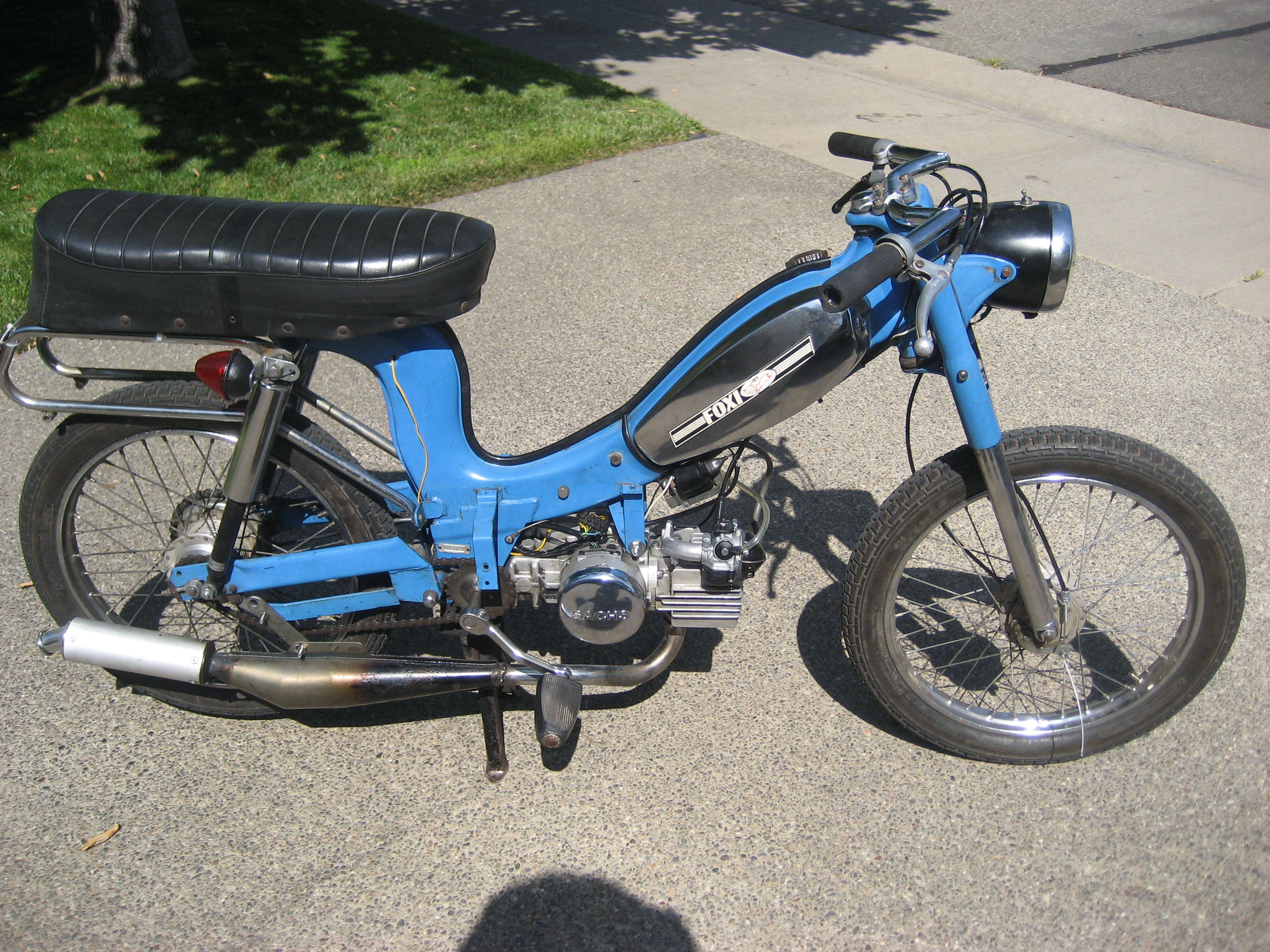 Sparta Foxi for sale Sacramento by noclass — Moped Army