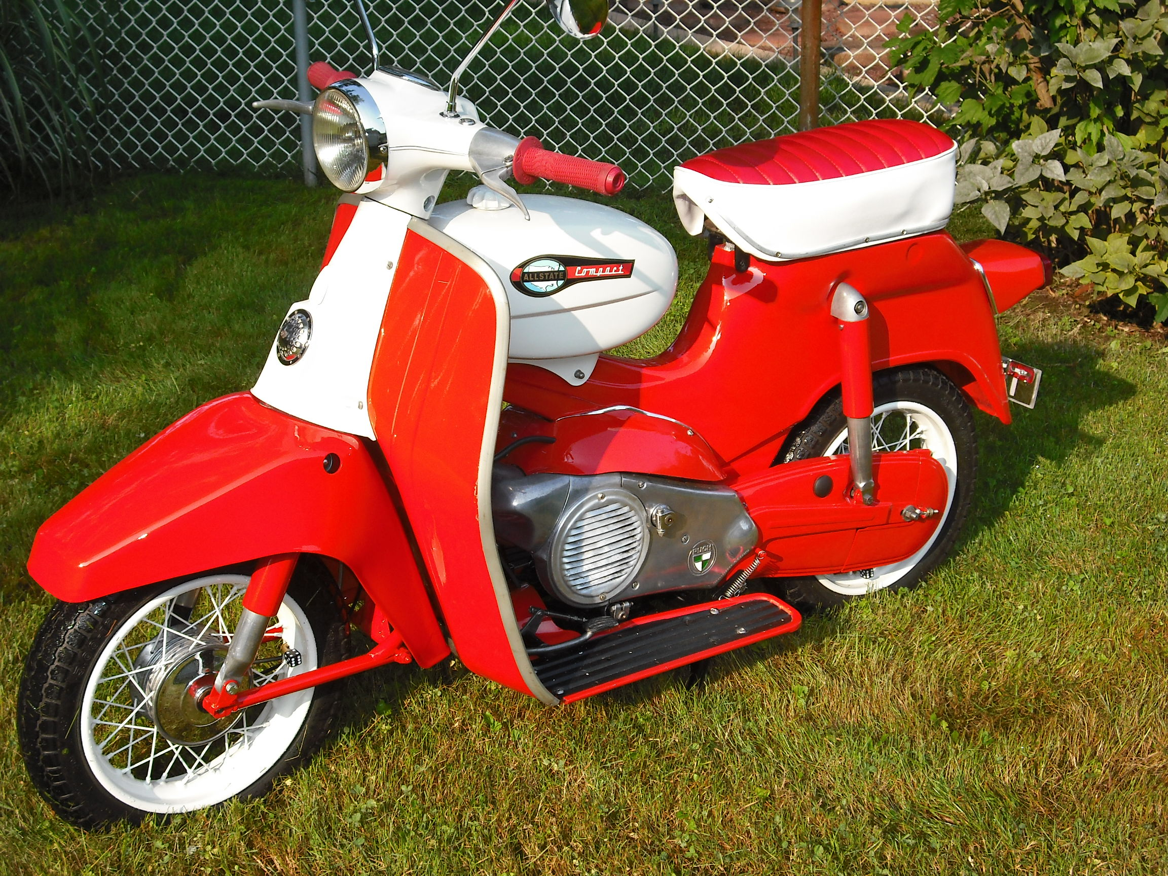 1965 sears allstate compact — Moped Army