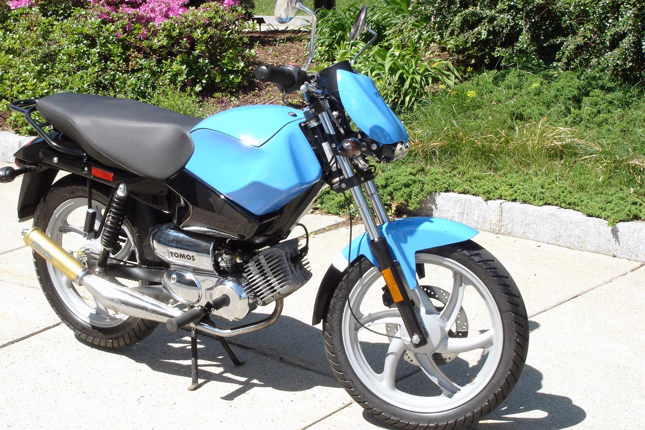 FOR SALE: Tomos Streetmate R - BOSTON — Moped Army