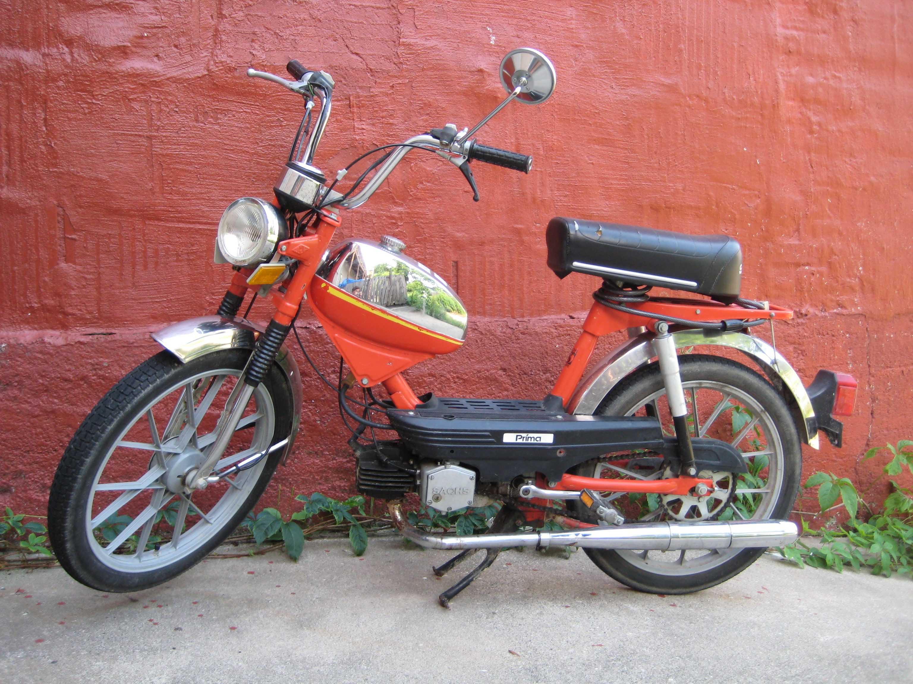 1980 sachs prima for sale 400 moped army. Black Bedroom Furniture Sets. Home Design Ideas
