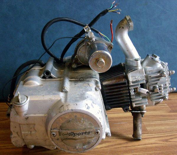 ot fs cc pfmb honda clone engine moped army