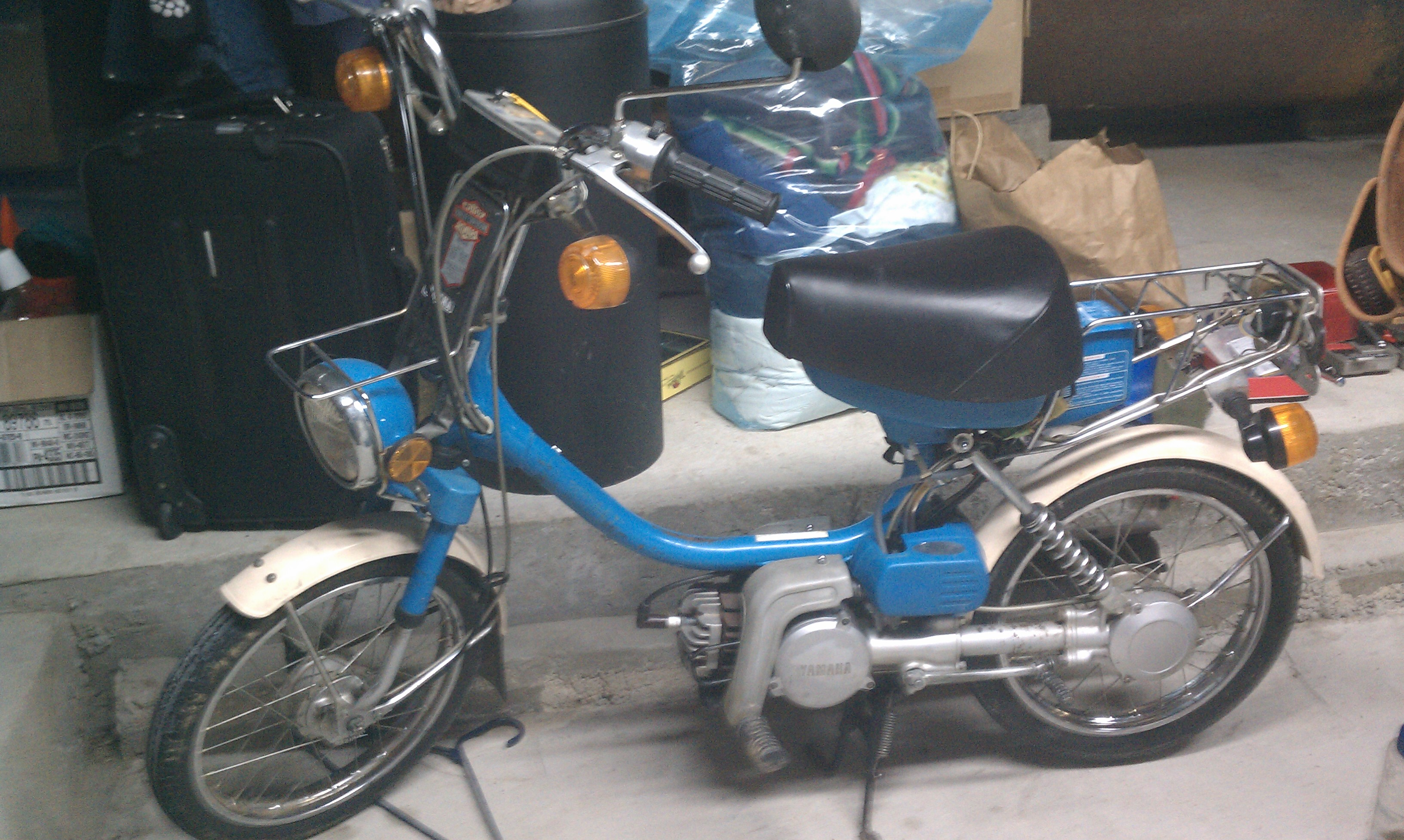 For Sale 1984 Yamahopper Moped Army