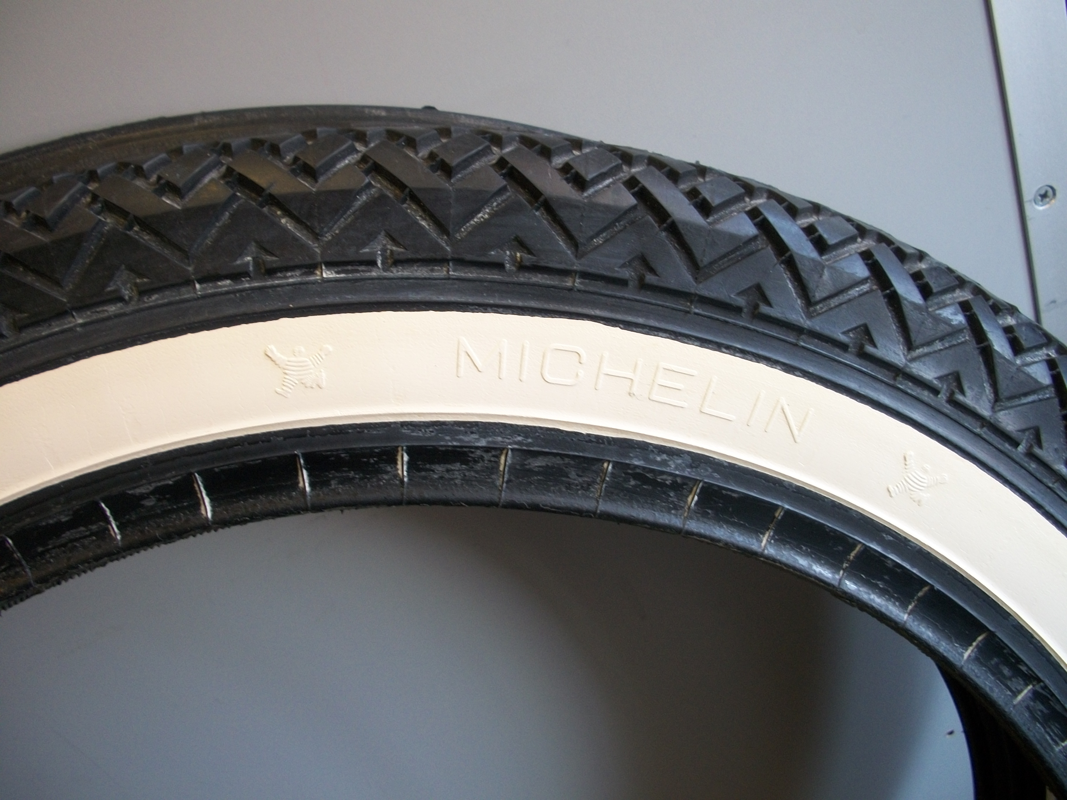 Michelin Whitewall Tires >> 16 X 2 Michelin Whitewall Tires New Original Moped Army