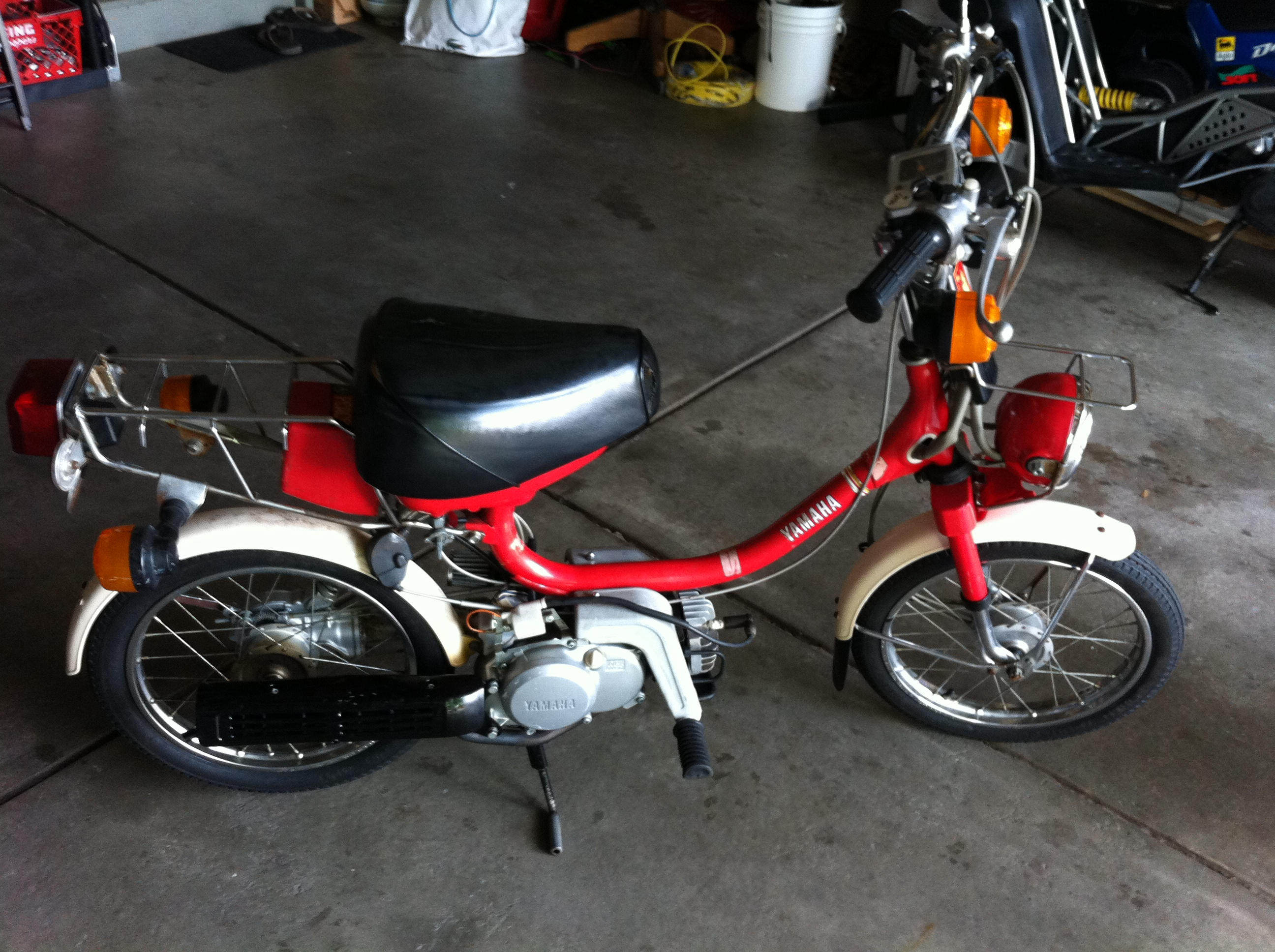 WTB-- Malossi 70cc kit for qt50 yamahopper — Moped Army