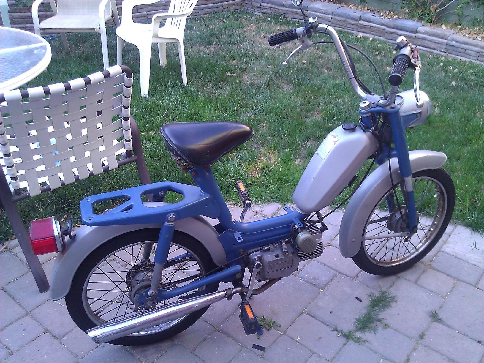 File on Morini Moped Gyromat