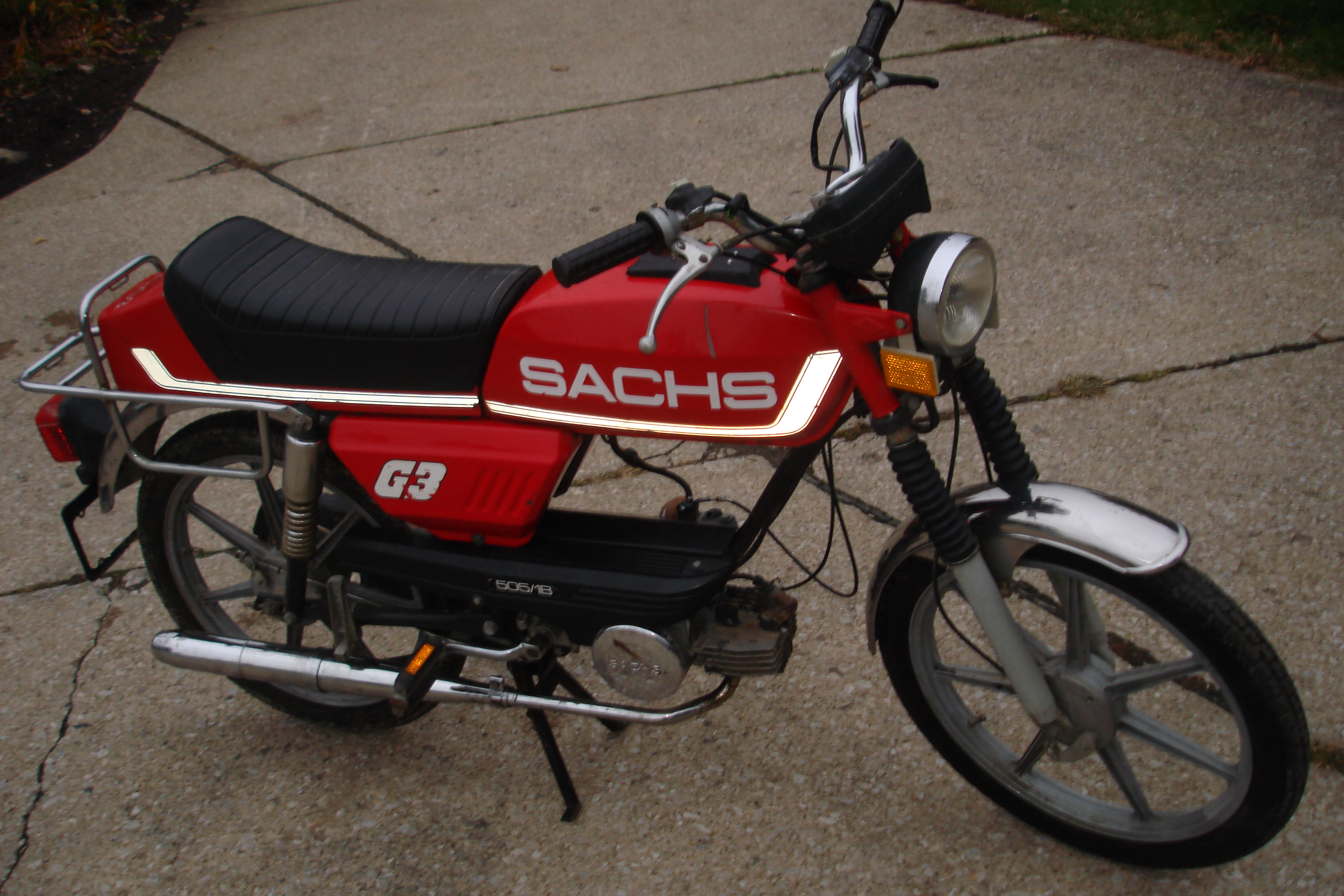For sale 79 Sachs Prima G3 toptank by targa03lx — Moped Army