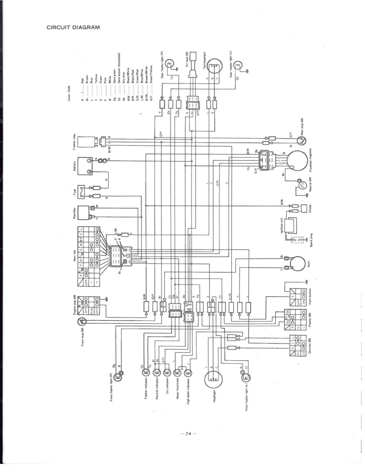 1985 ford mustang tachometer wiring