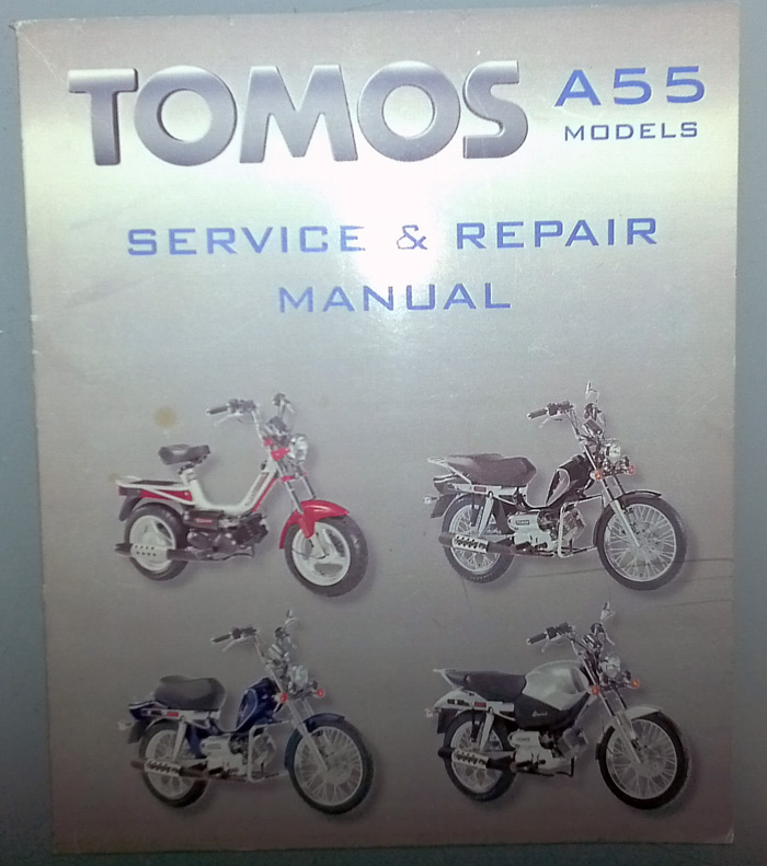Any Need For Digital Copy Of Tomos A55 Manual   U2014 Moped Army