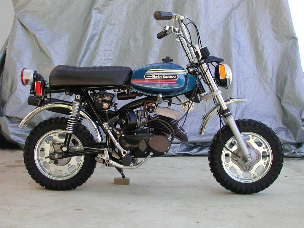 Re: 50cc Harley Davidson [by tvg13] — Moped Army