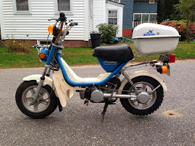 Trying to fix up Yamaha Champ 1980 LC50 — Moped Army on
