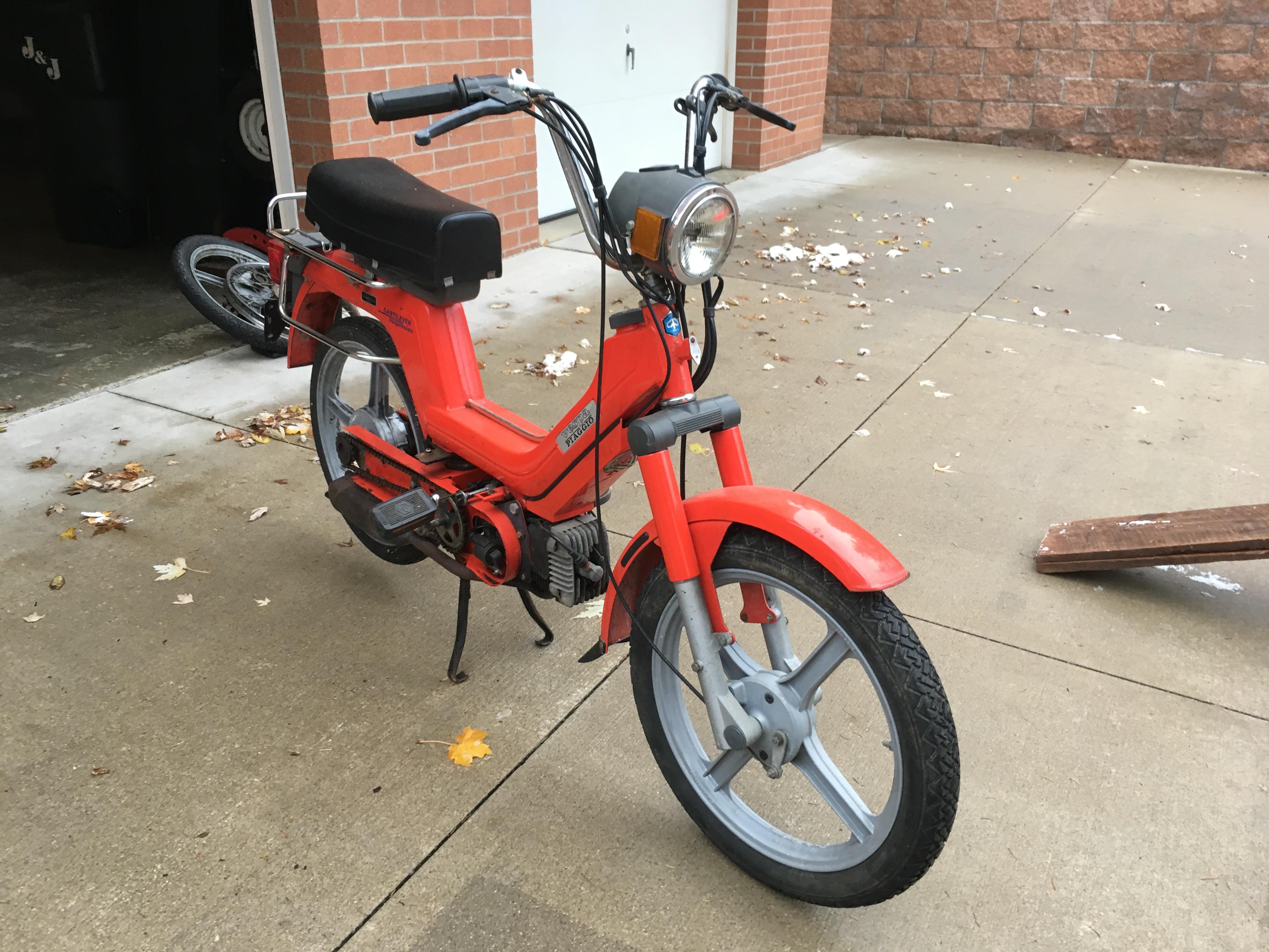 Moped Engine Swap