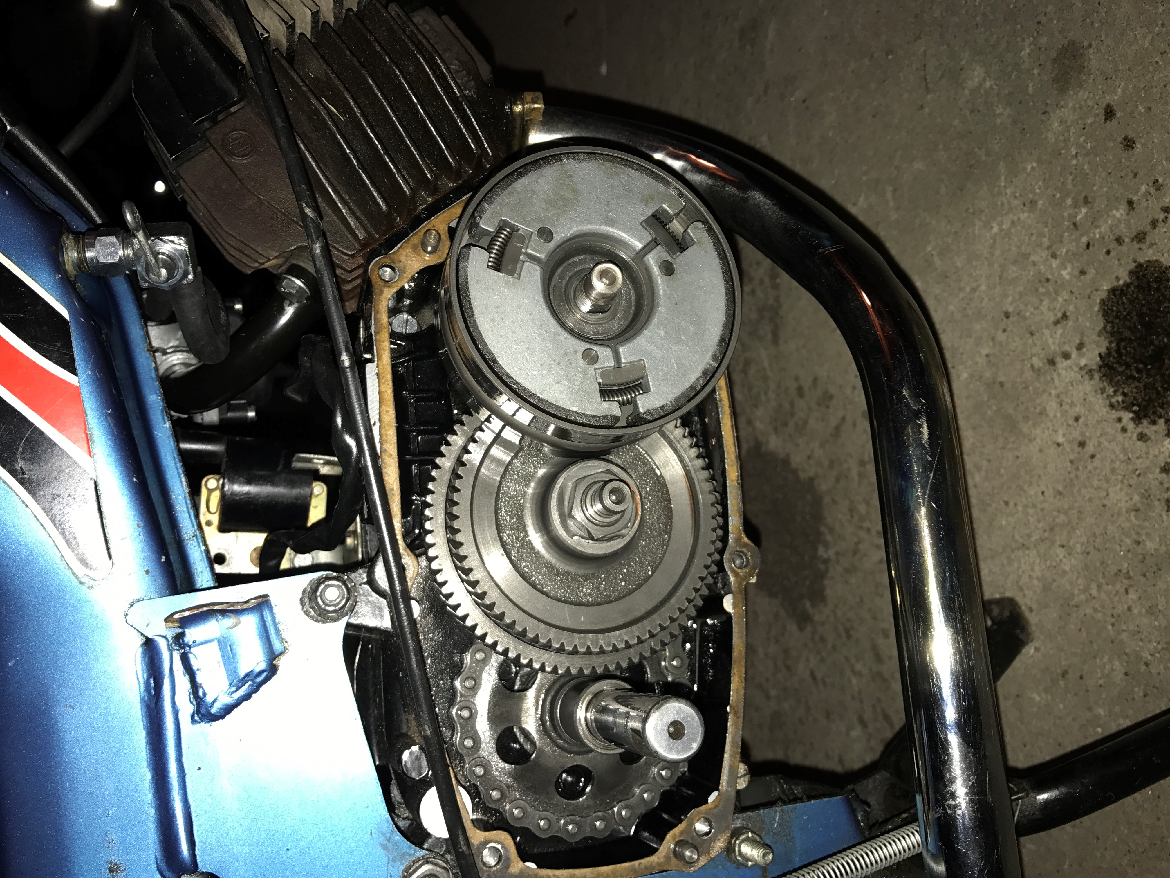 Tomos A3 jerky first gear — Moped Army